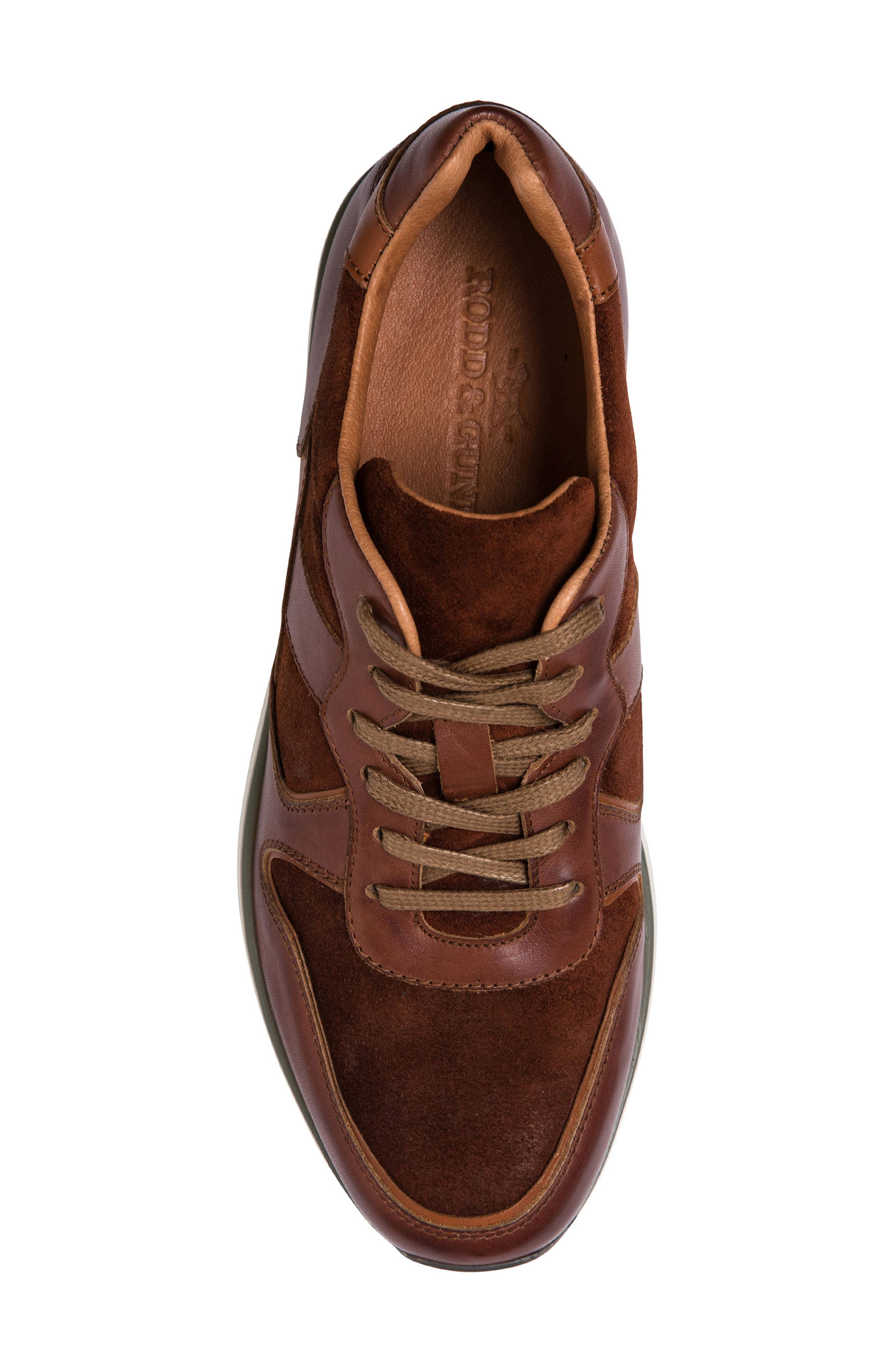 Hickory Sneaker,                             Alternate thumbnail 5, color,                             Tan Leather