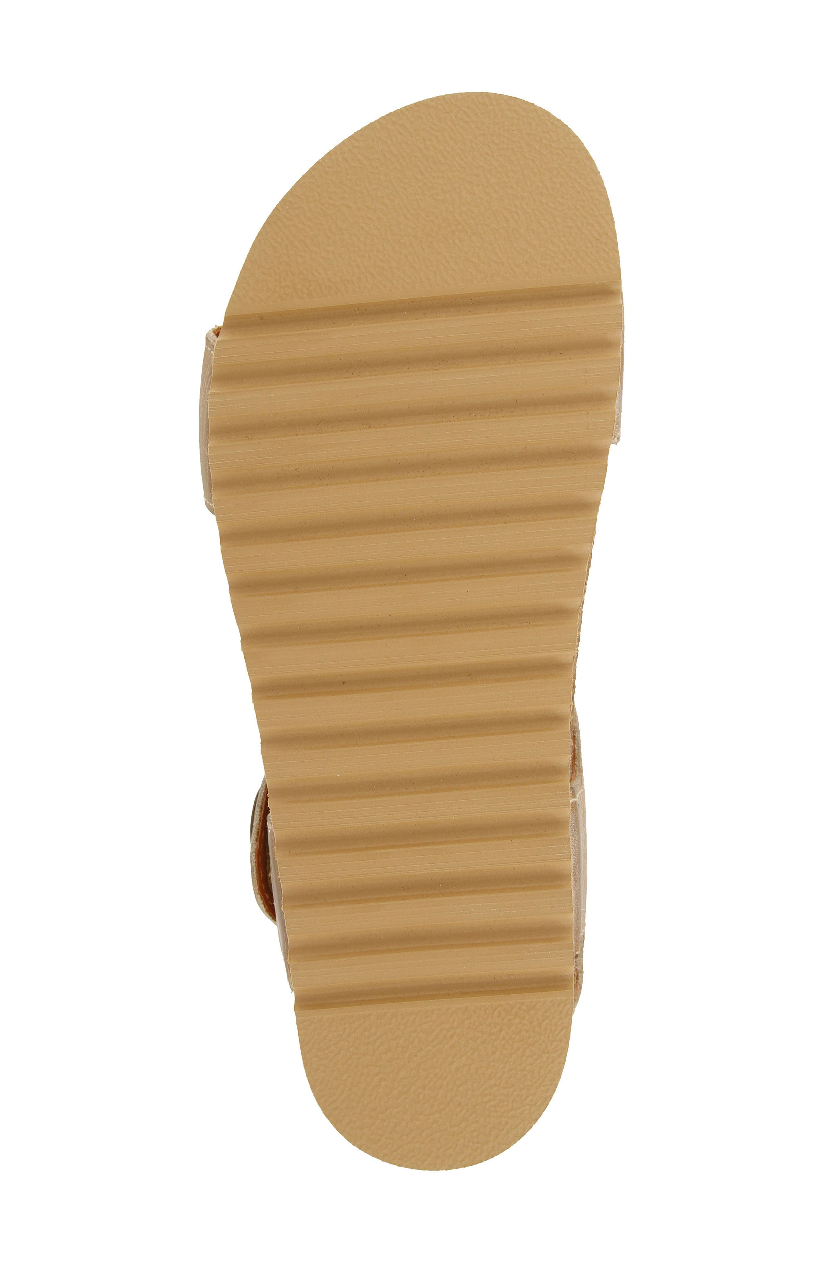 Luckie Sandal,                             Alternate thumbnail 5, color,                             Taupe Leather