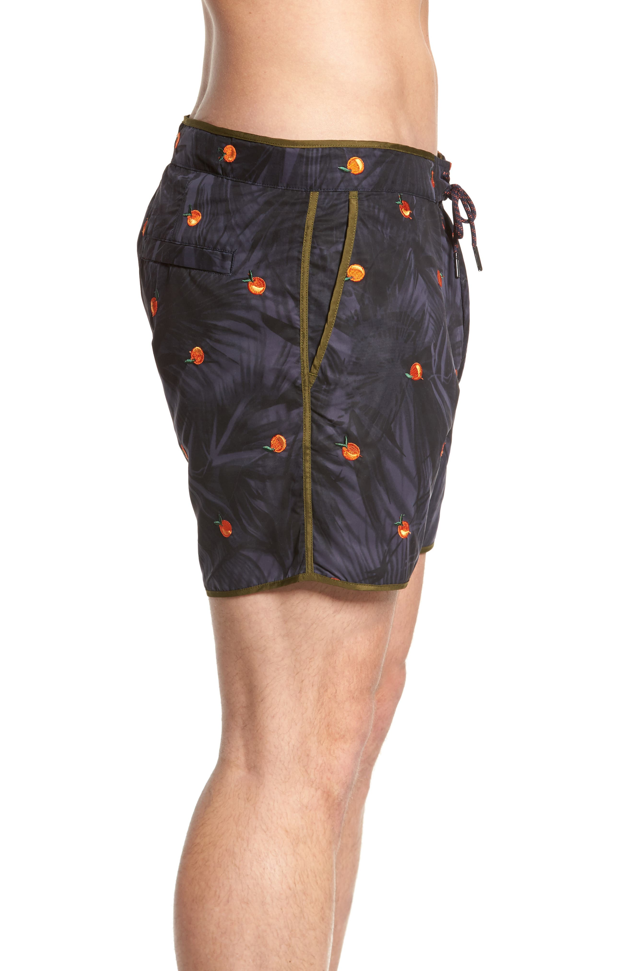 Print Swim Trunks,                             Alternate thumbnail 3, color,                             Combo B