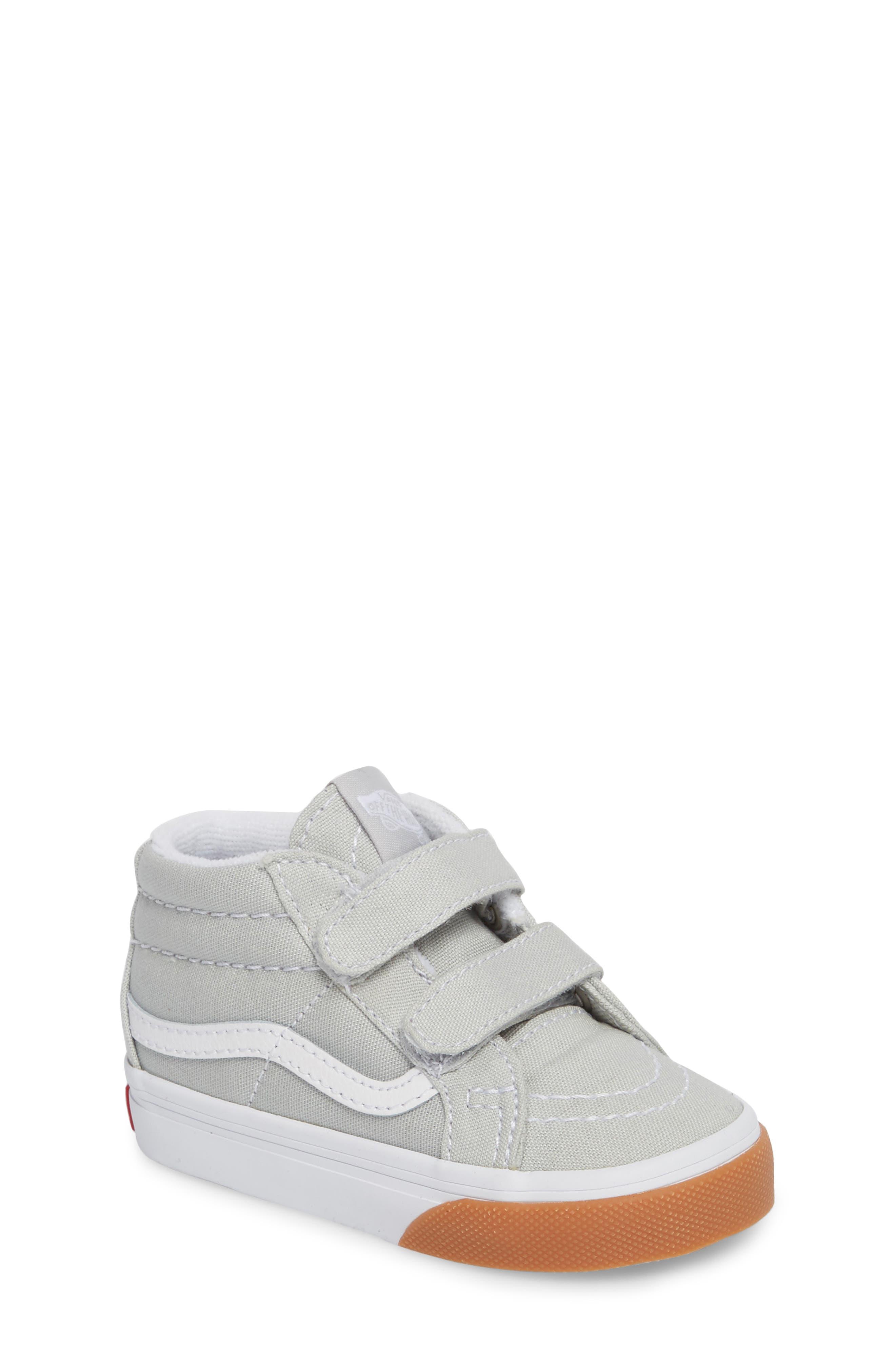 Alternate Image 1 Selected - Vans SK8-Mid Reissue V Sneaker (Baby, Walker & Toddler)