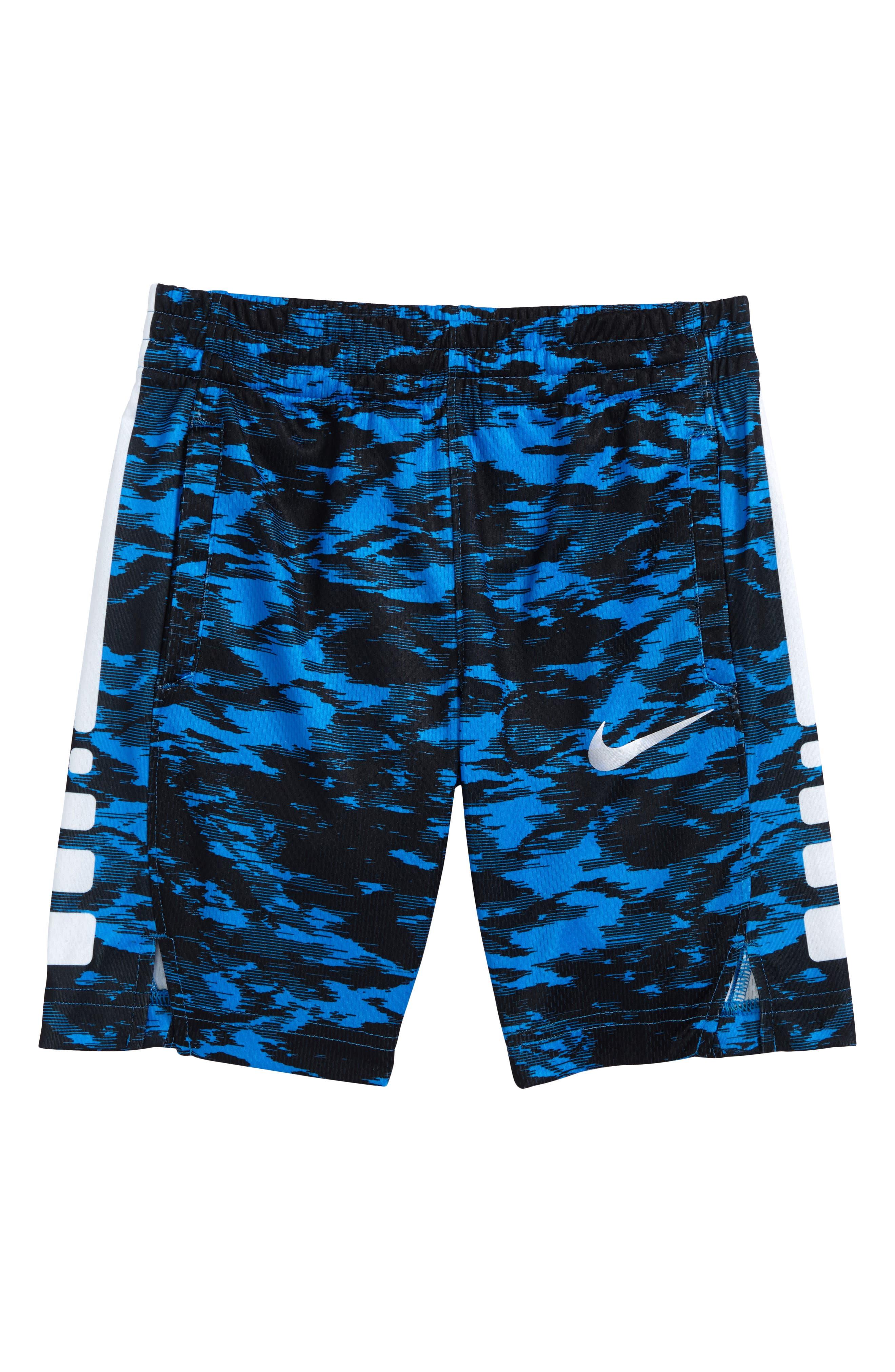 Vent AOP Shorts,                             Main thumbnail 1, color,                             Light Photo Blue