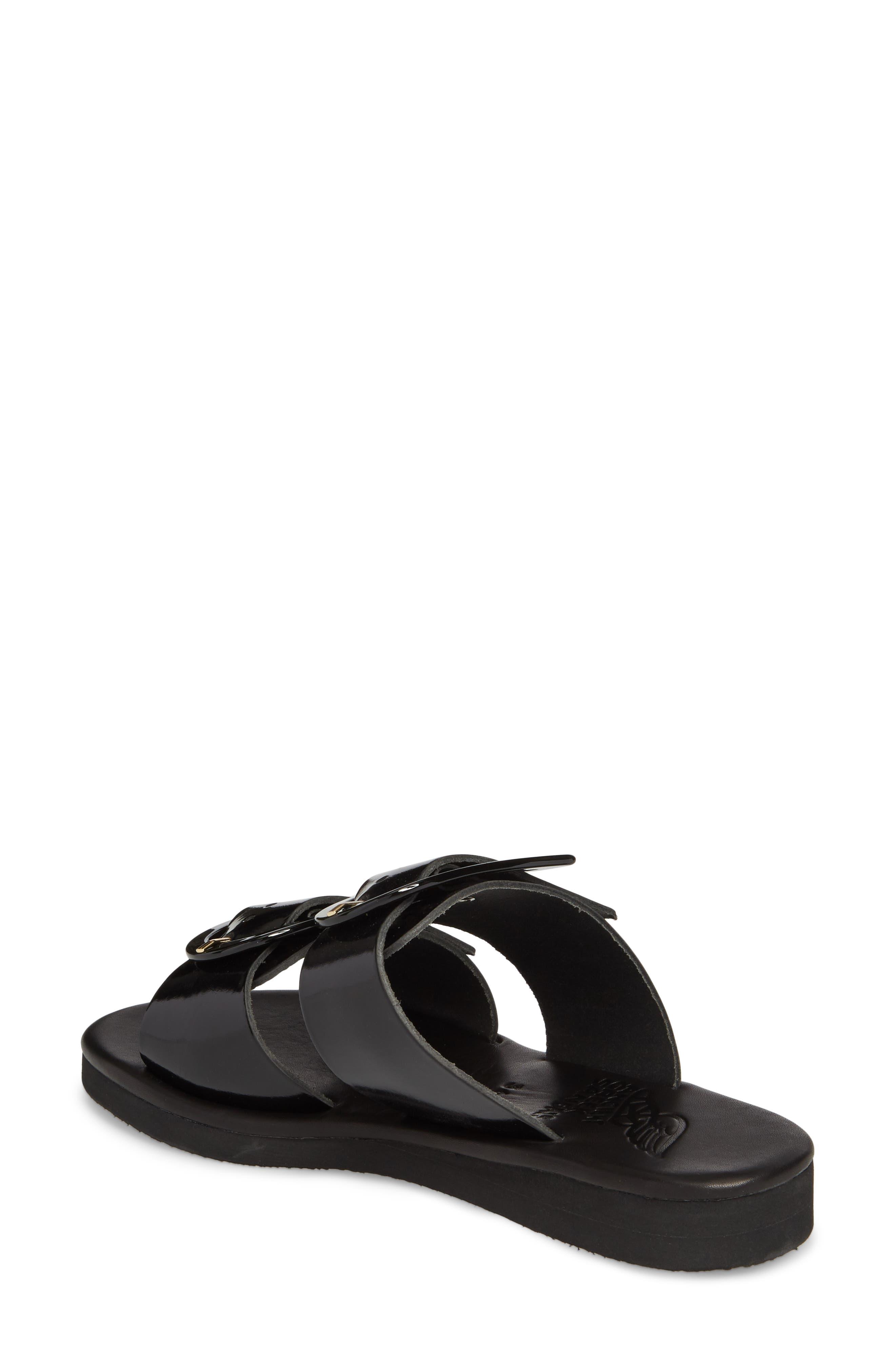 Iaso Slide Sandal,                             Alternate thumbnail 2, color,                             Black