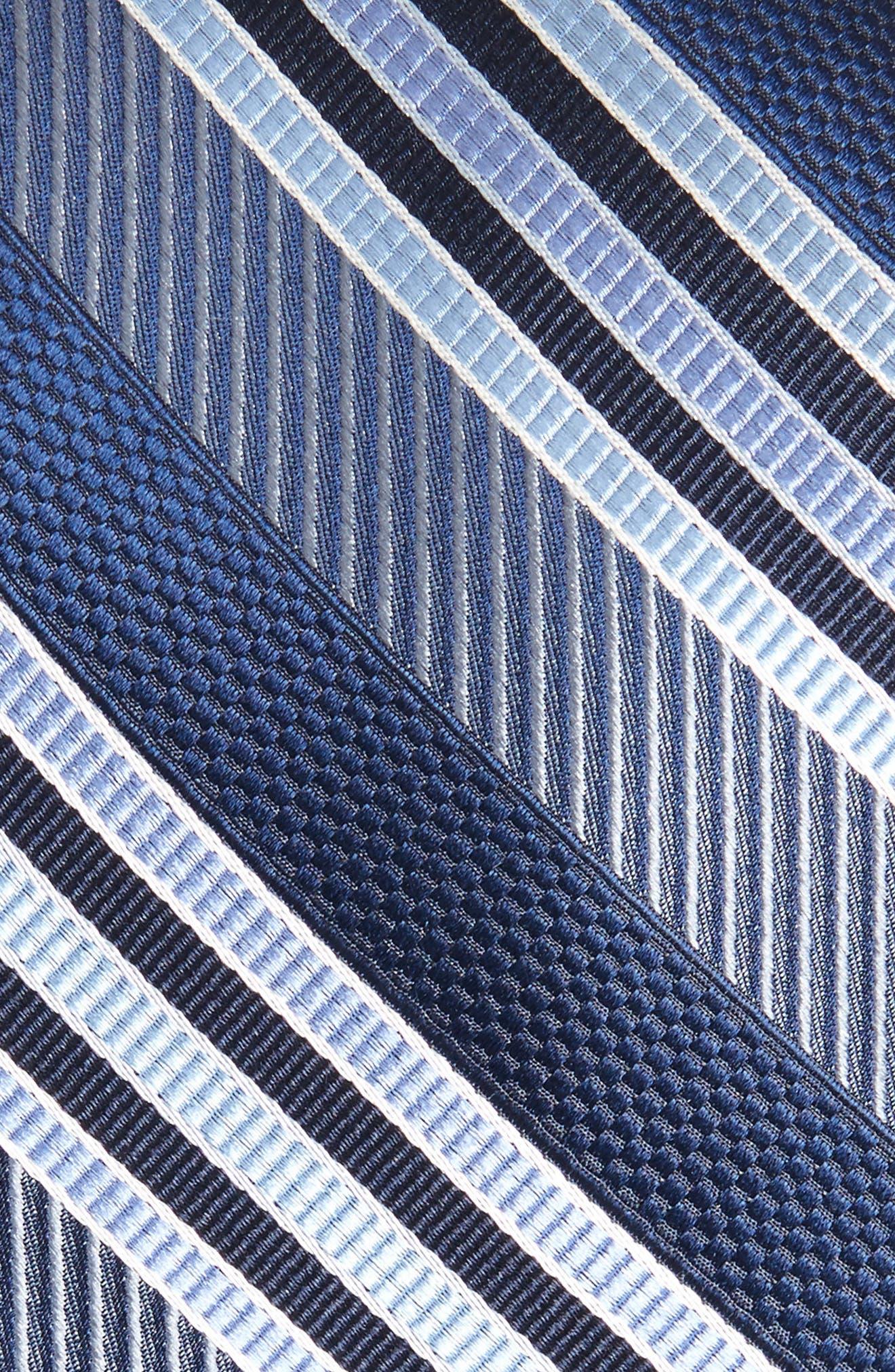 Northwest Stripe Silk Tie,                             Alternate thumbnail 2, color,                             Sky