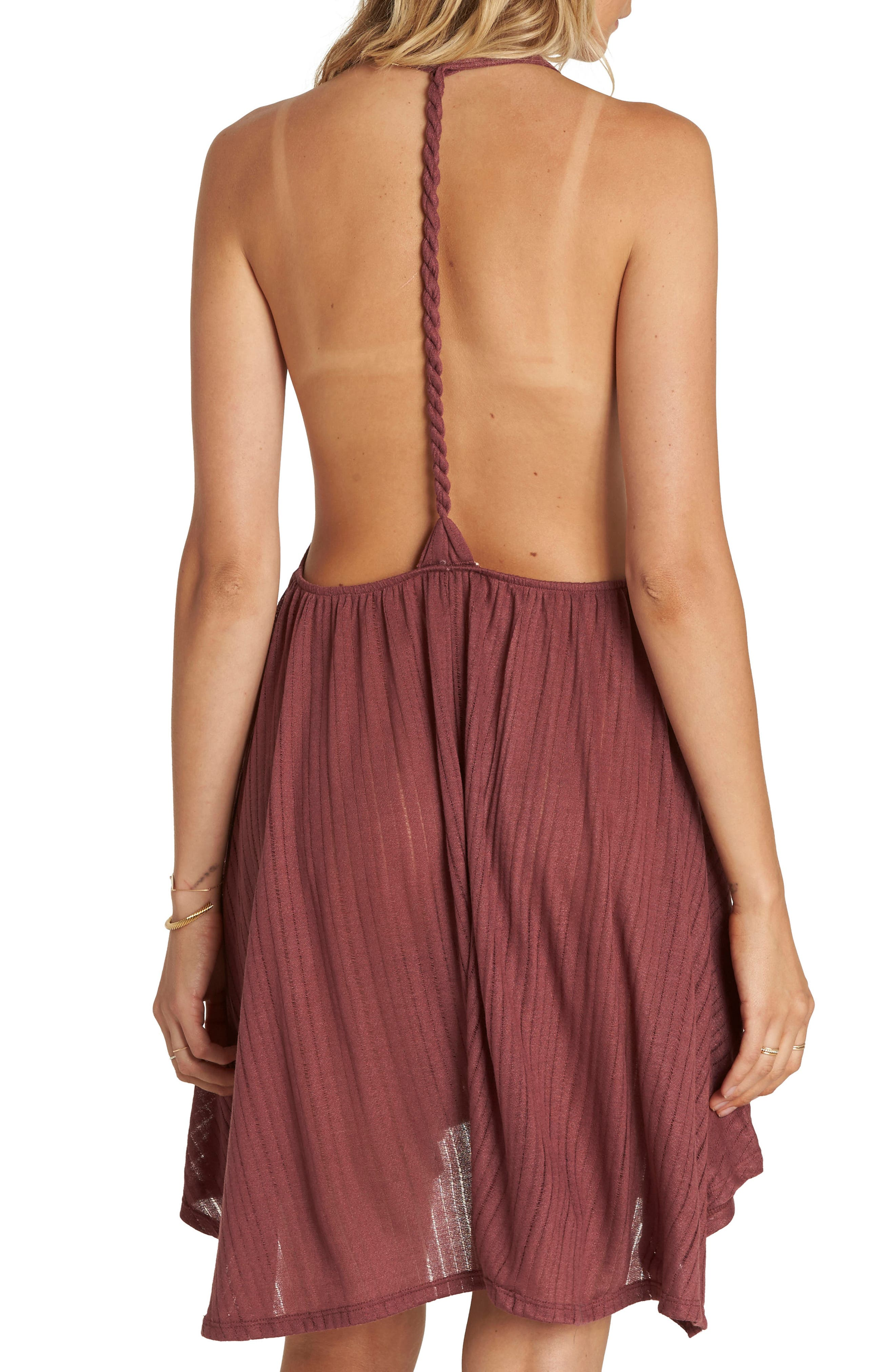 Alternate Image 2  - Billabong Twisted View Cover-Up Dress