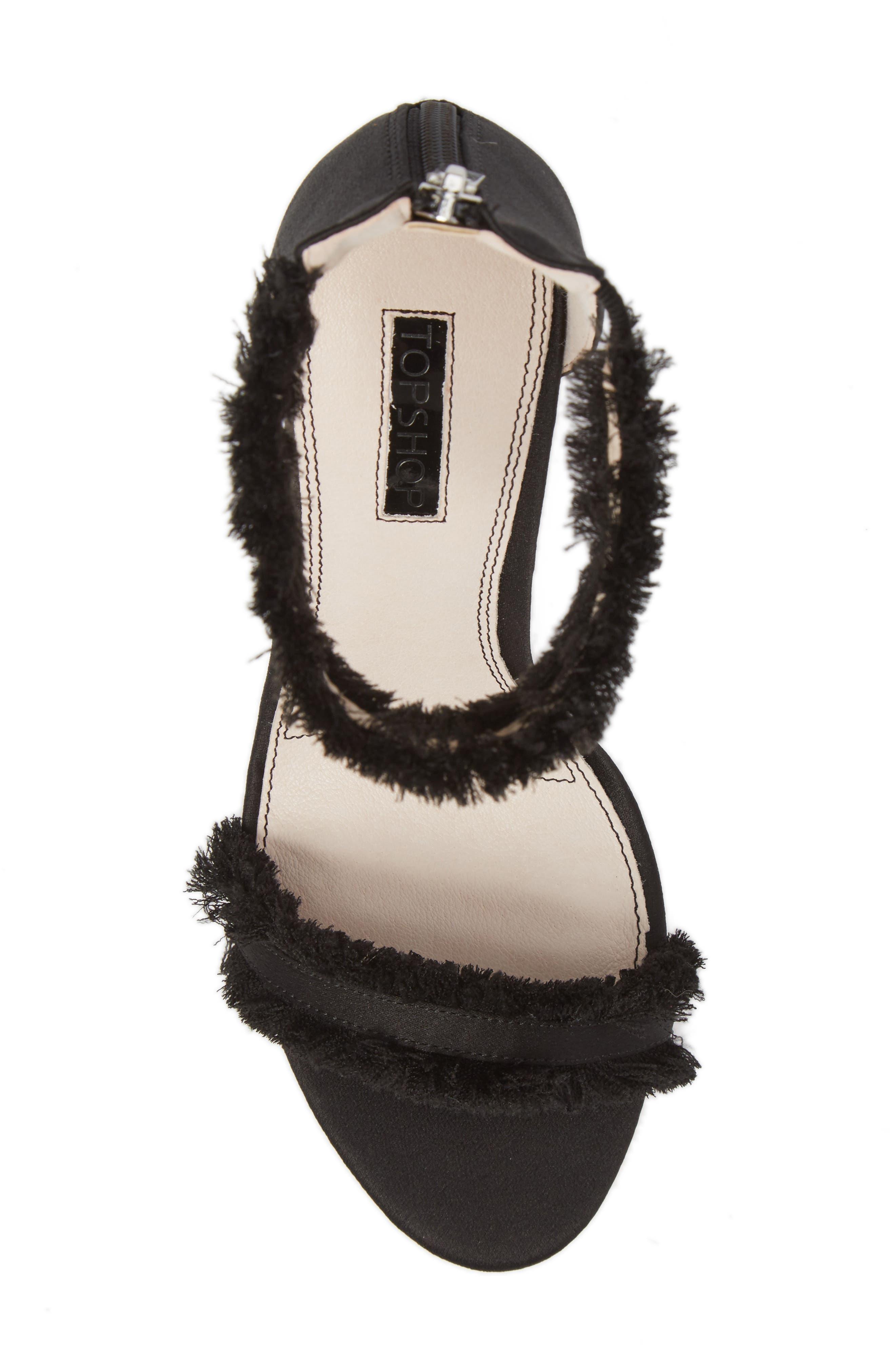 Alternate Image 4  - Topshop Riley Fringe Sandal (Women)