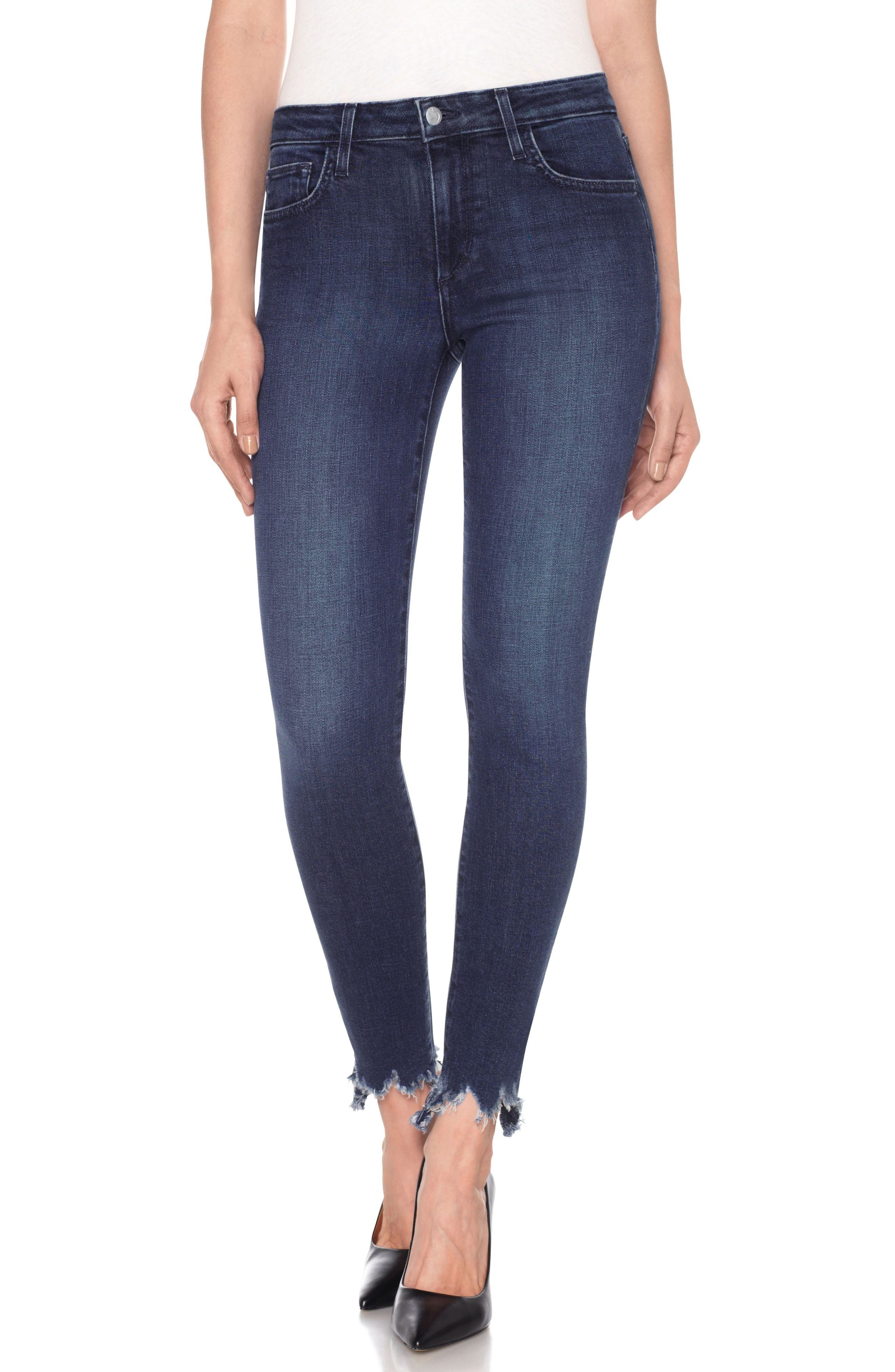 Icon Ankle Skinny Jeans,                             Main thumbnail 1, color,                             Everly