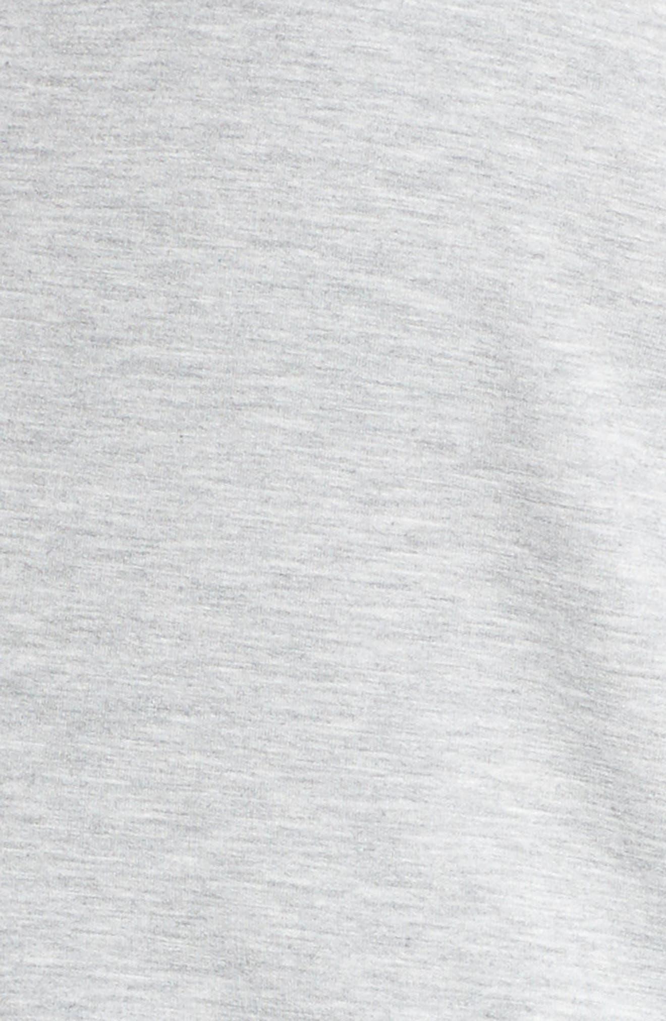 Alternate Image 5  - Caslon® Tie Sleeve Knit Blazer (Plus Size)