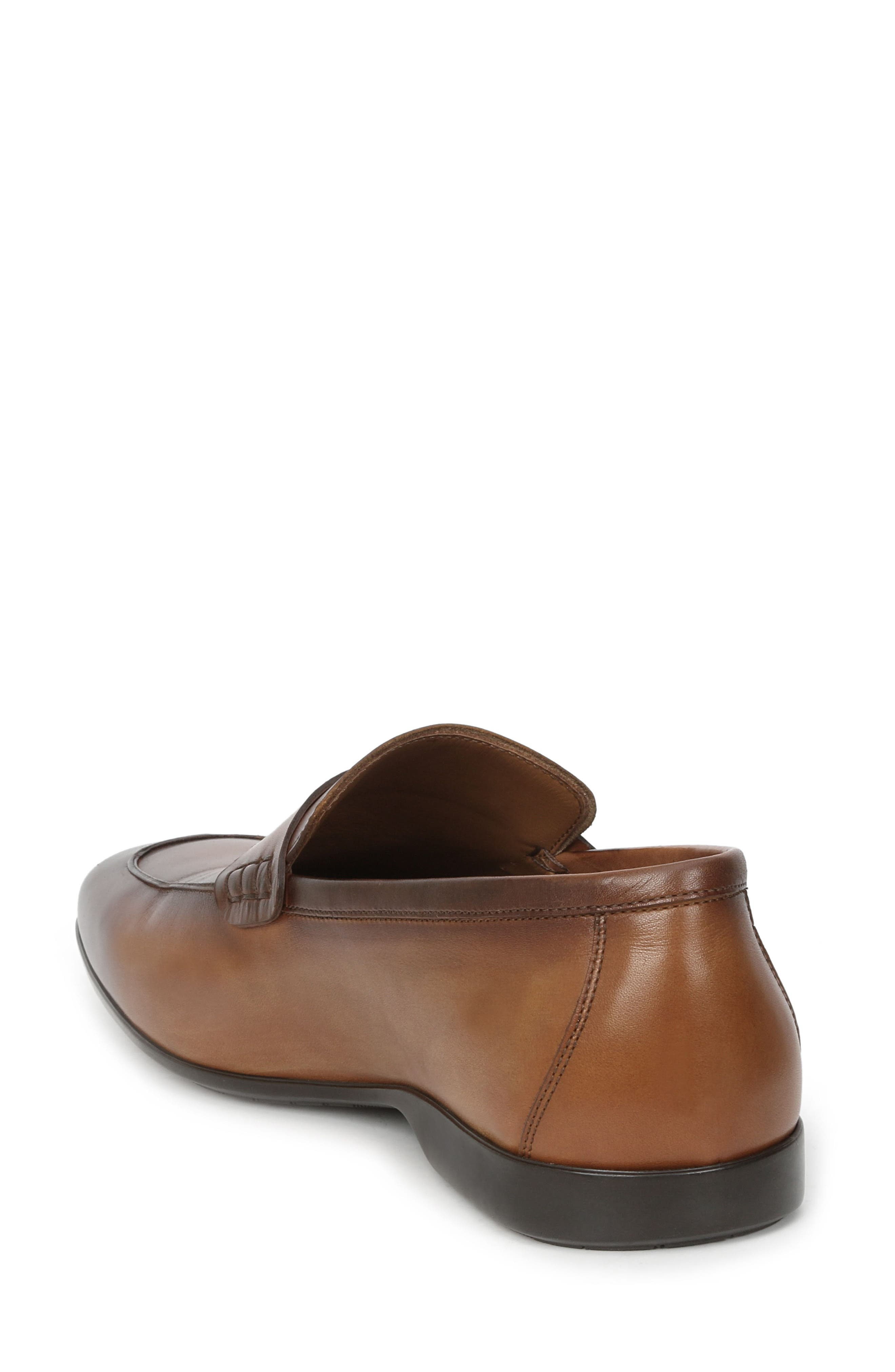 Margot Penny Loafer,                             Alternate thumbnail 2, color,                             Cognac