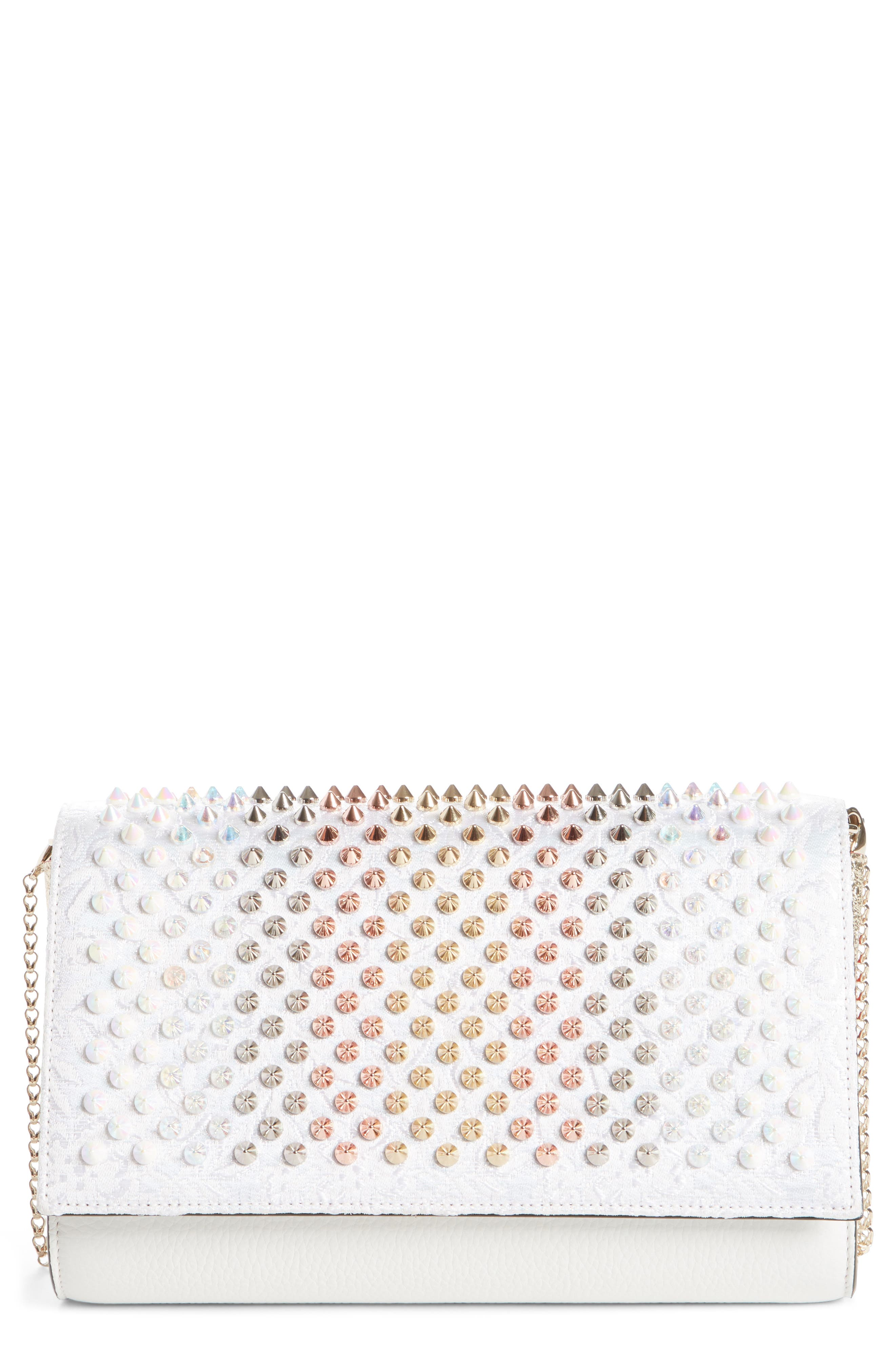 Christian Louboutin Paloma Spiked Clutch
