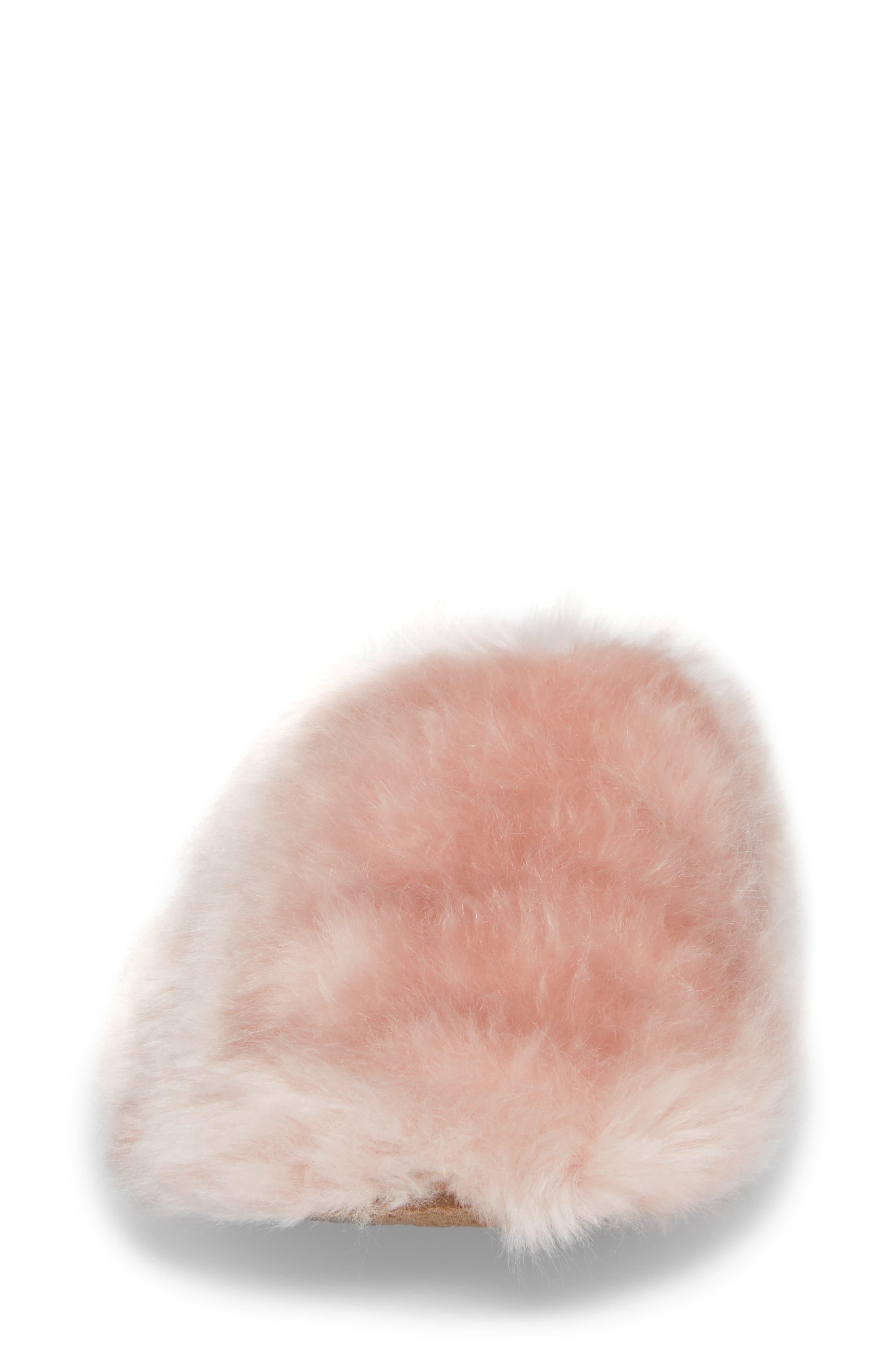 Alternate Image 4  - J.Crew Faux Fur Slipper (Women)
