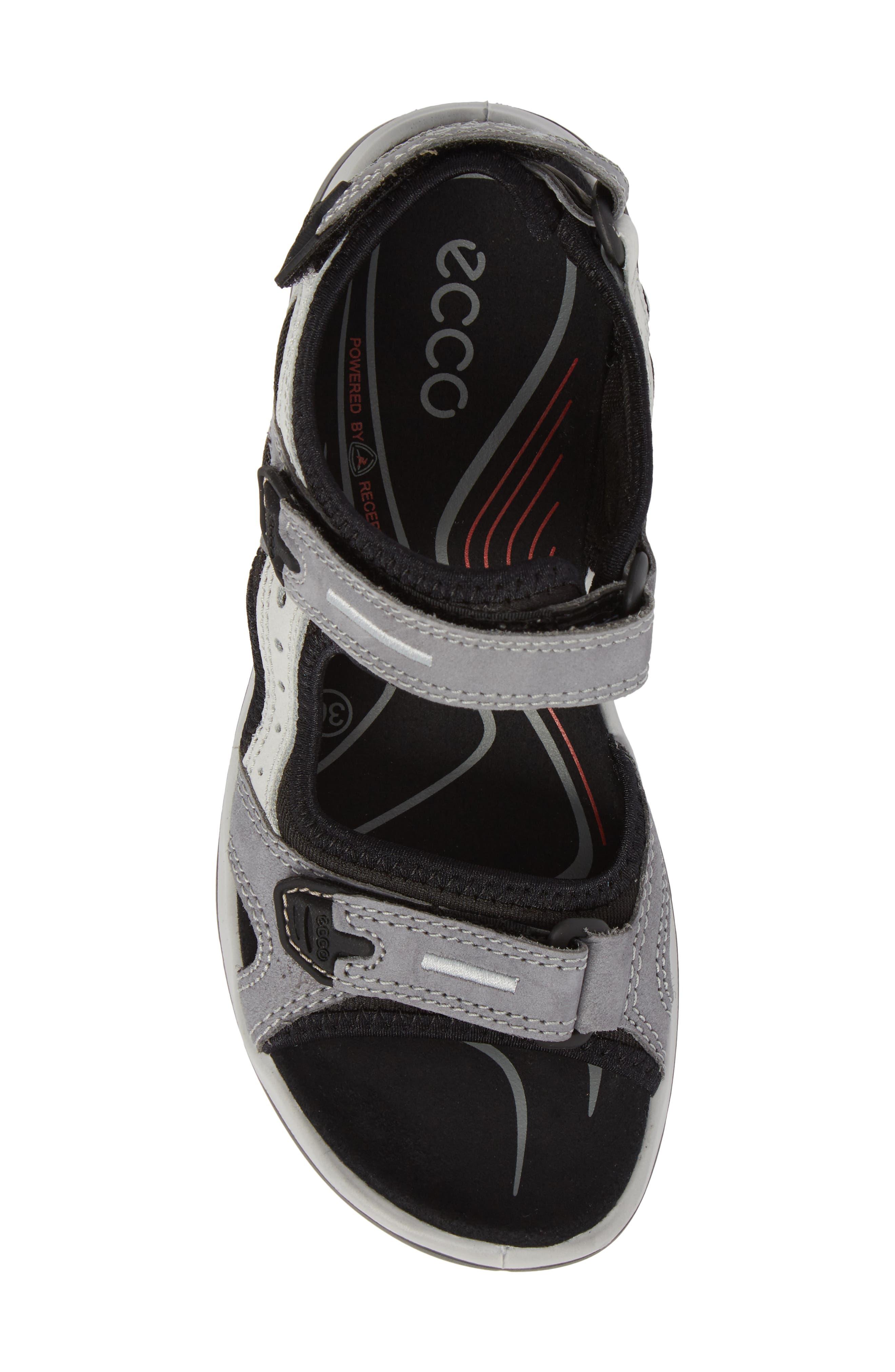 Yucatan Sandal,                             Alternate thumbnail 5, color,                             Titanium Leather