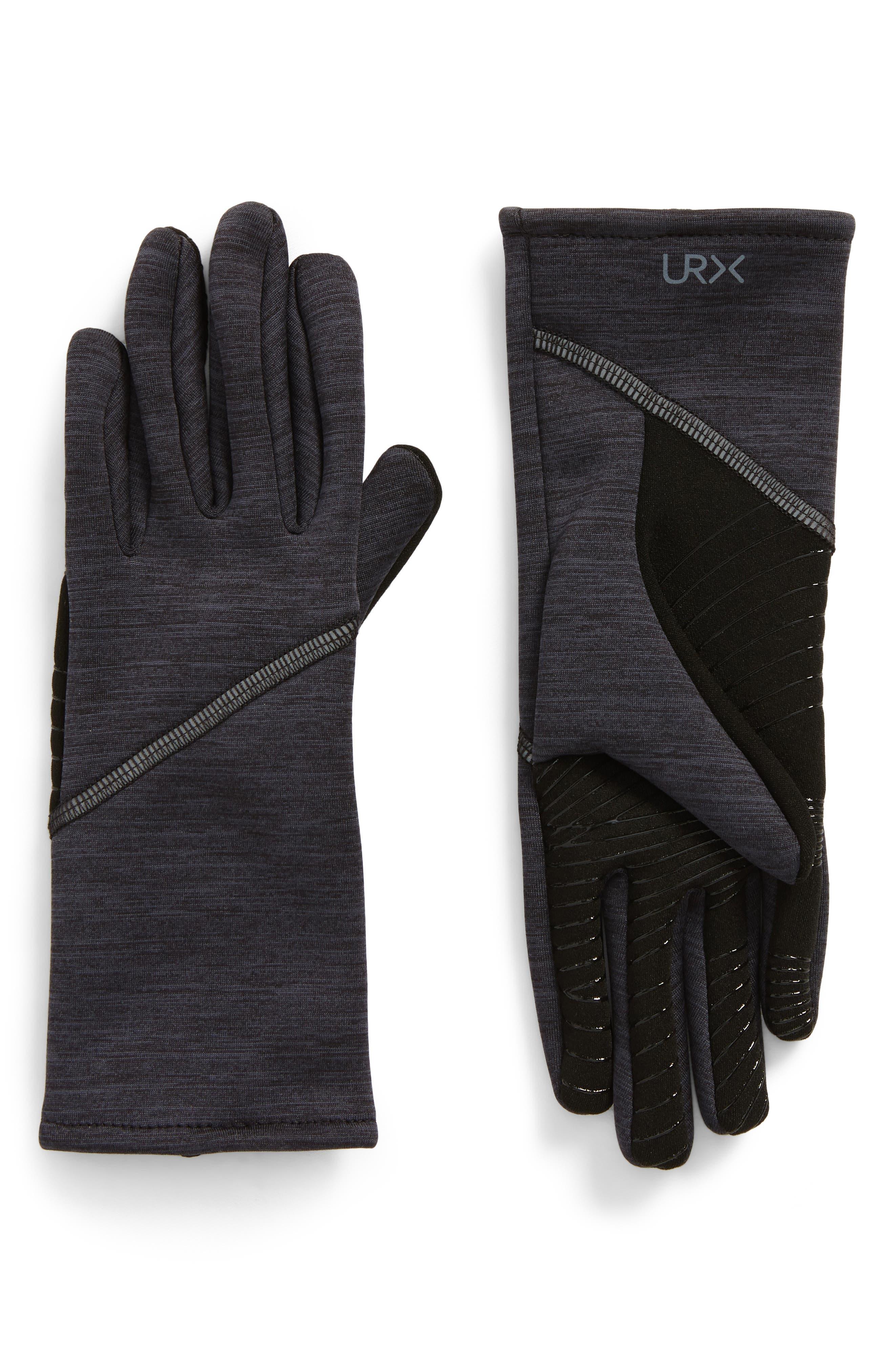 Seamed Stretch Tech Gloves,                         Main,                         color, Black M