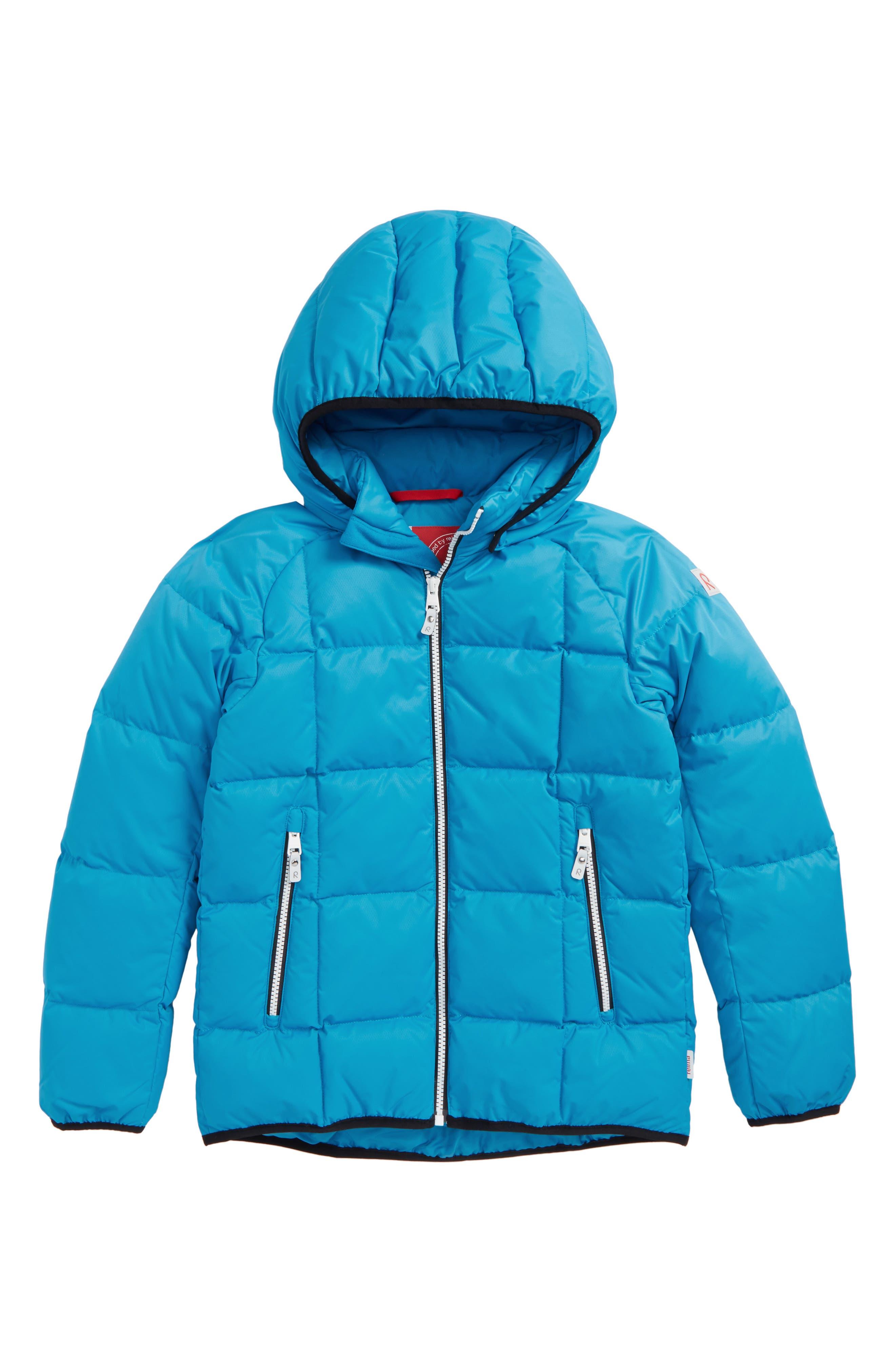 Jord Down Waterproof Insulated Coat,                             Main thumbnail 1, color,                             Blue