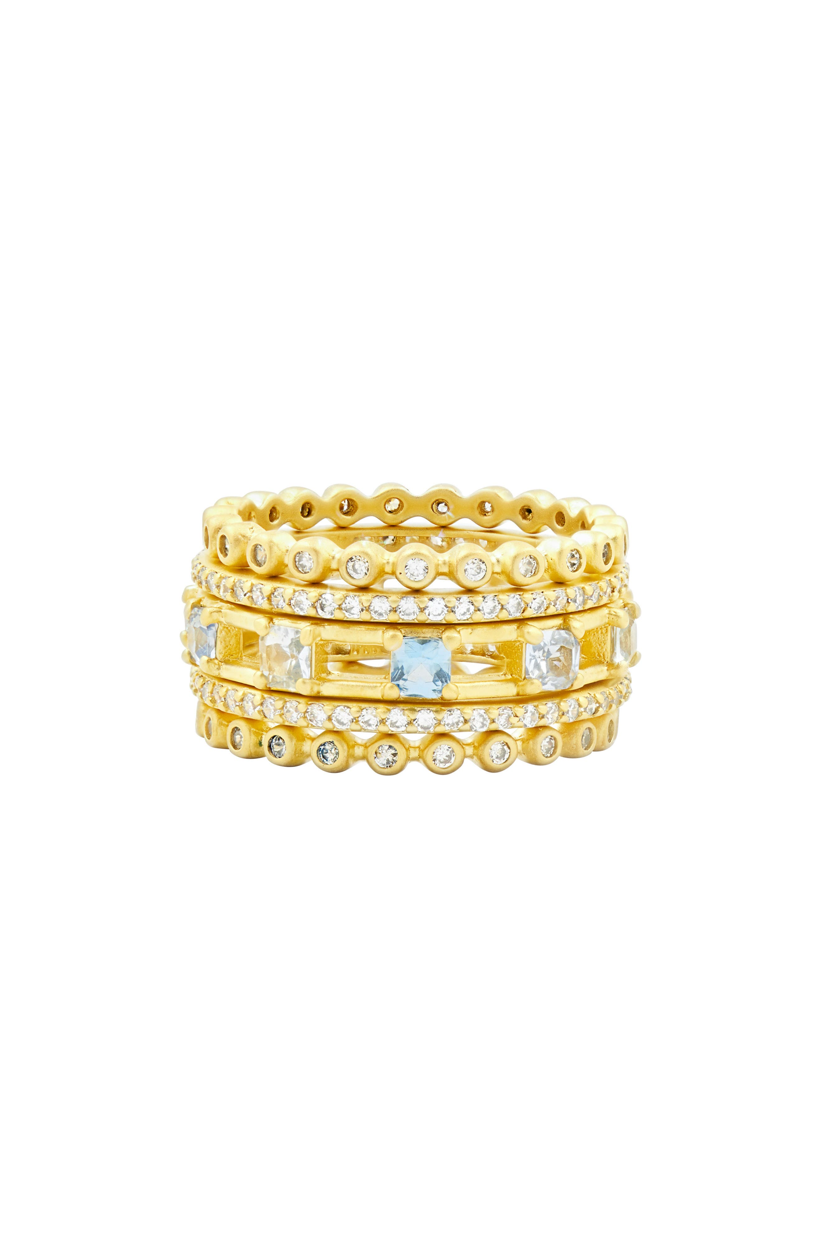 Main Image - FREIDA ROTHMAN Ocean Azure Cubic Zirconia Ring