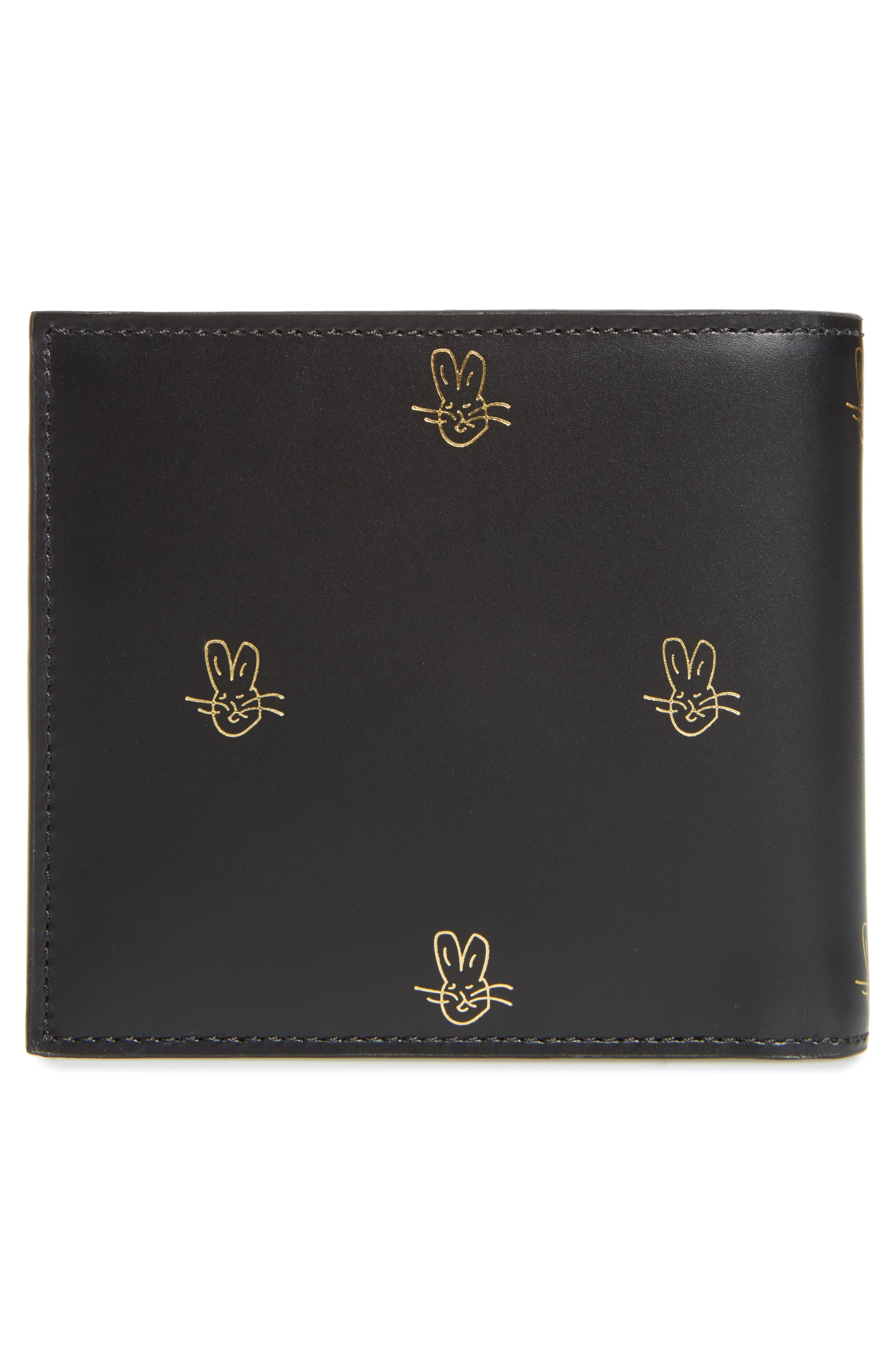 Alternate Image 3  - Paul Smith Doodles Leather Billfold Wallet