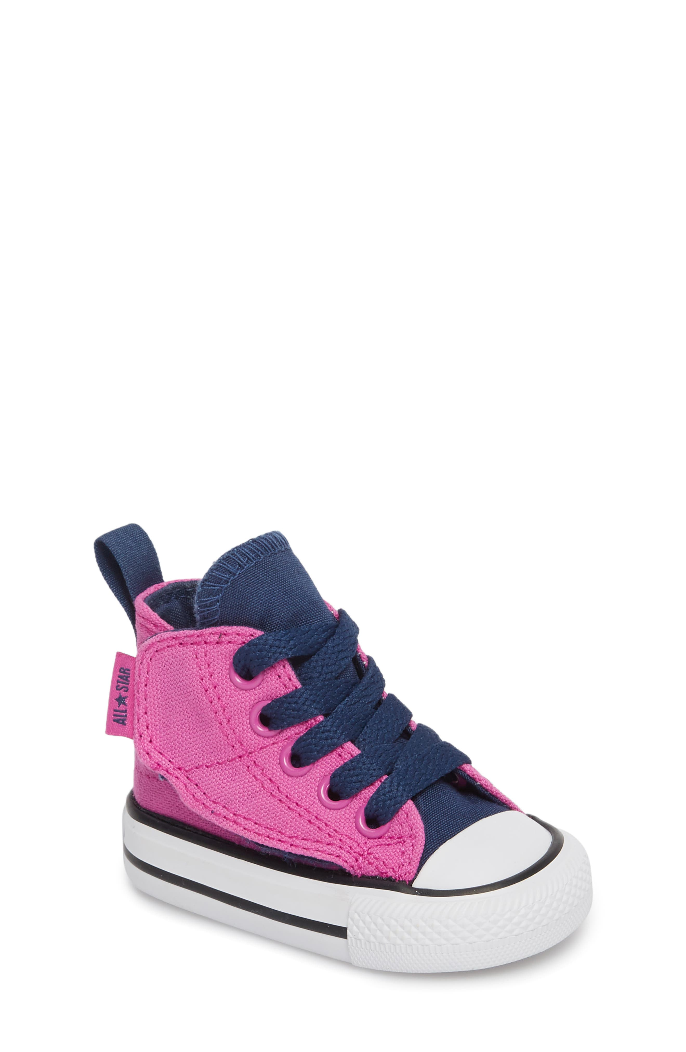 Main Image - Converse Chuck Taylor® All Star® 'Simple Step' High Top Sneaker (Baby, Walker & Toddler)