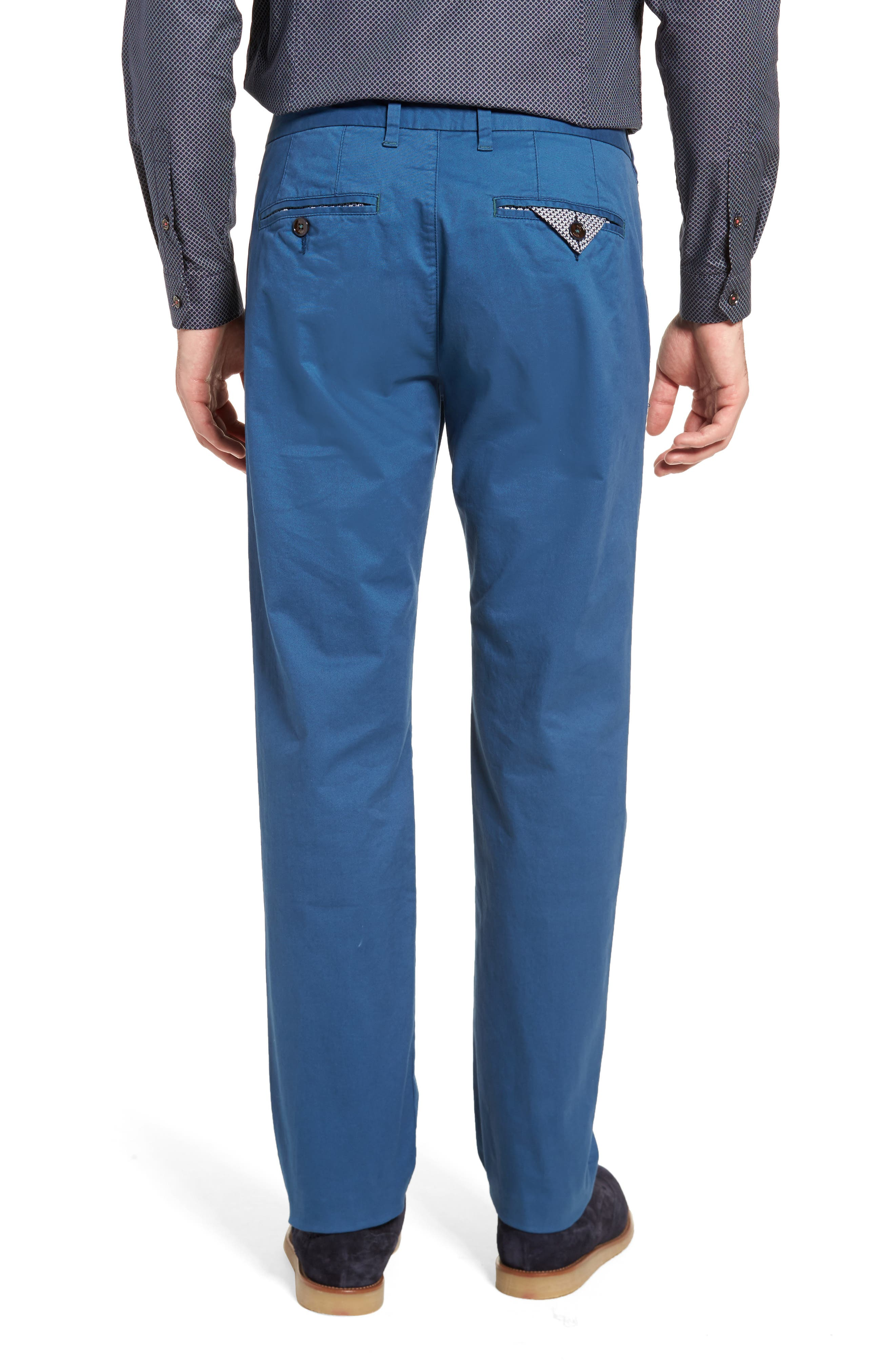 Procor Slim Fit Chino Pants,                             Alternate thumbnail 2, color,                             Navy