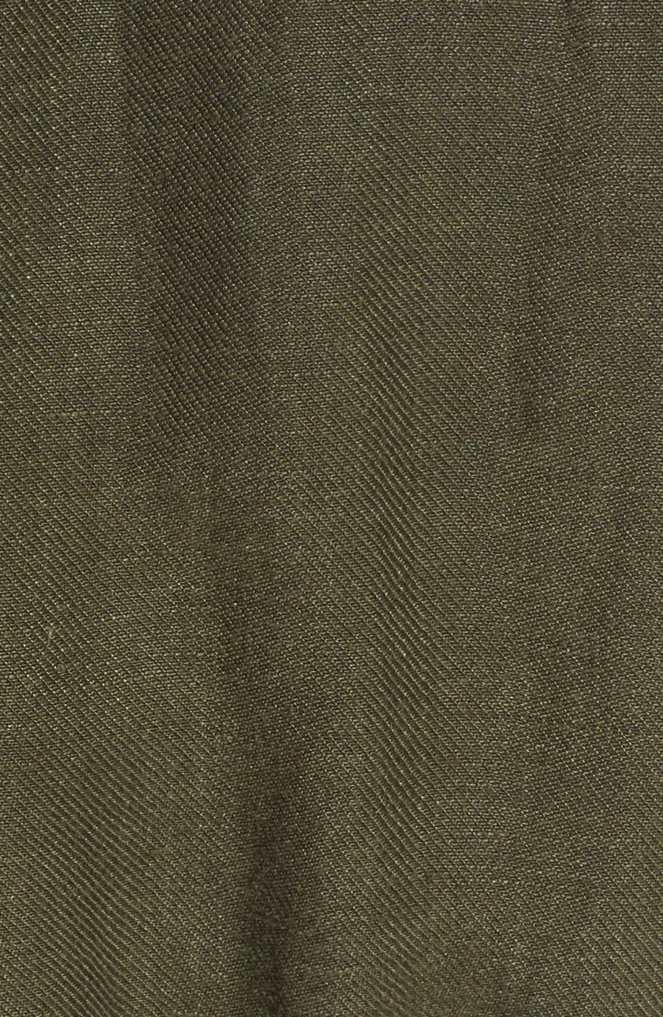 Carell Utility Jacket,                             Alternate thumbnail 5, color,                             Sulfur Desert Pine
