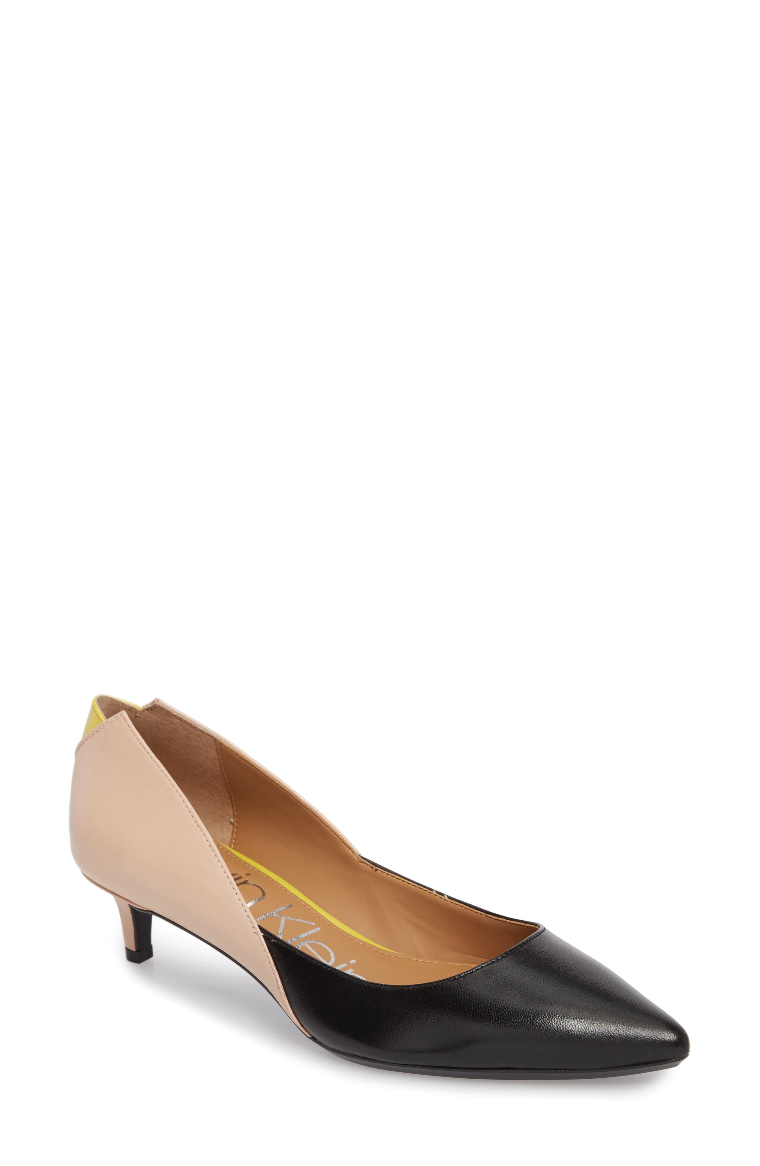 Calvin Klein Grayce Pointy Toe Pump (Women)