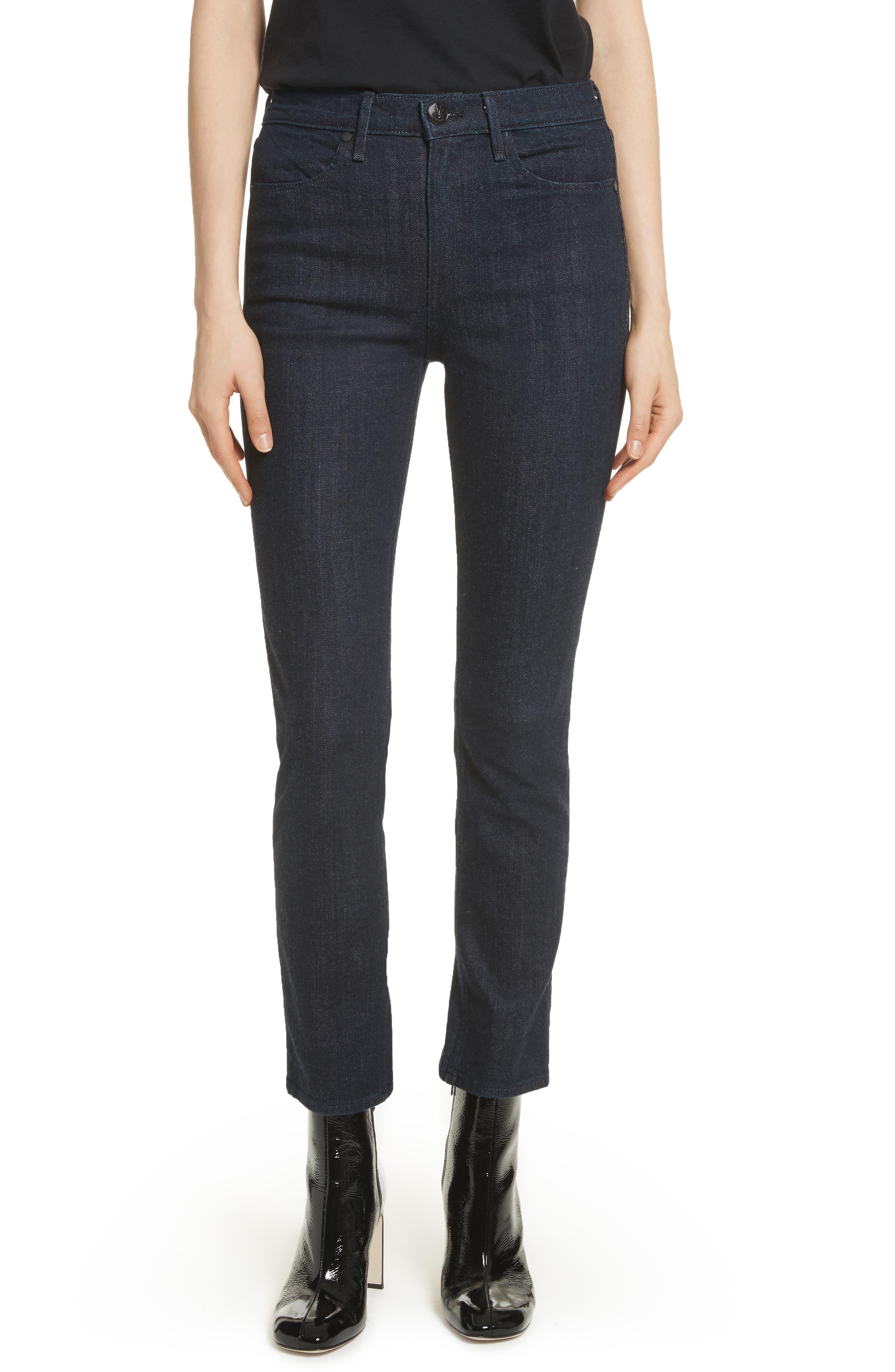 Cigarette Leg Skinny Jeans,                         Main,                         color, Indigo