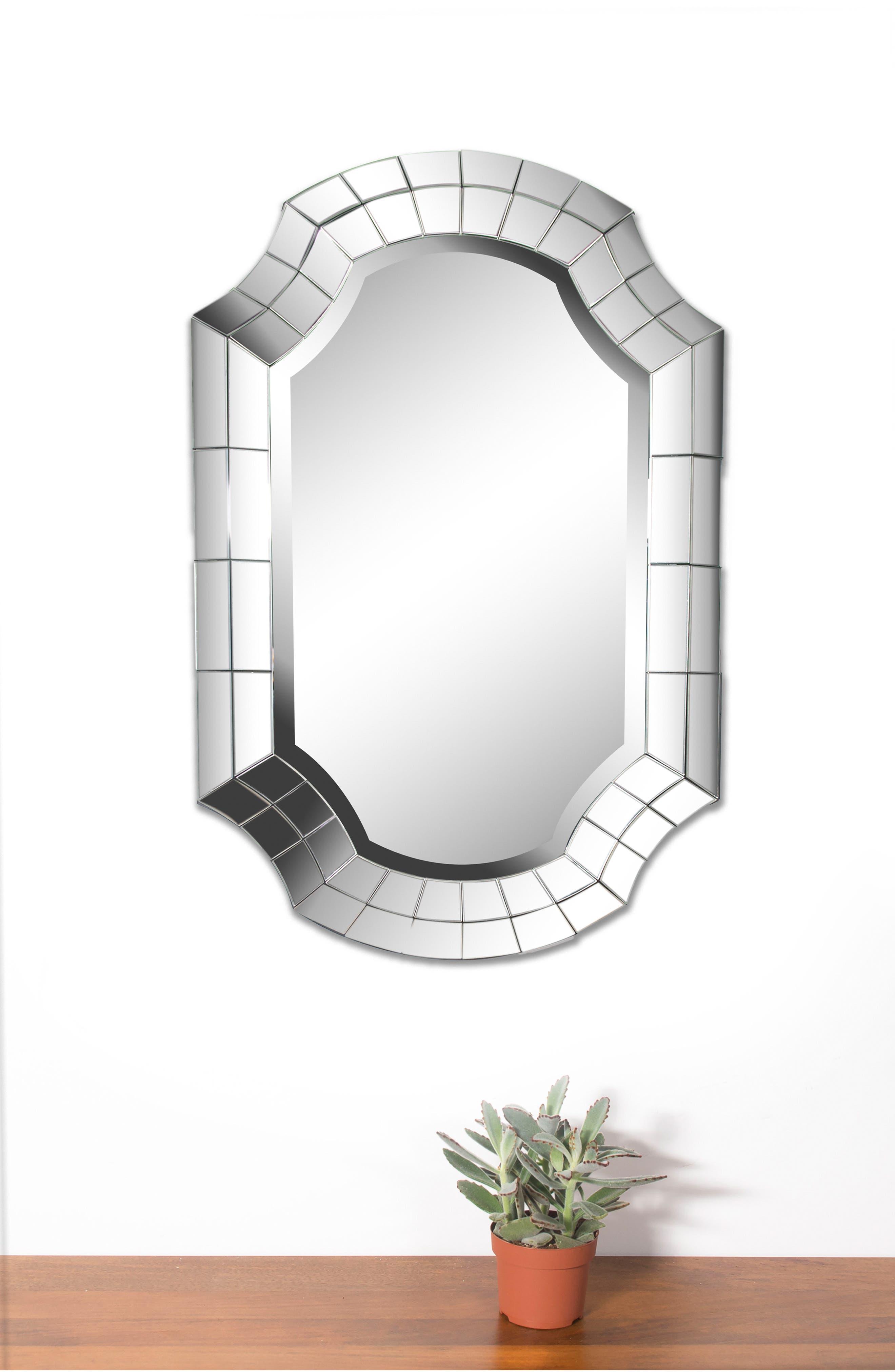 Clarke Mirror,                             Alternate thumbnail 4, color,                             Antique Mirror