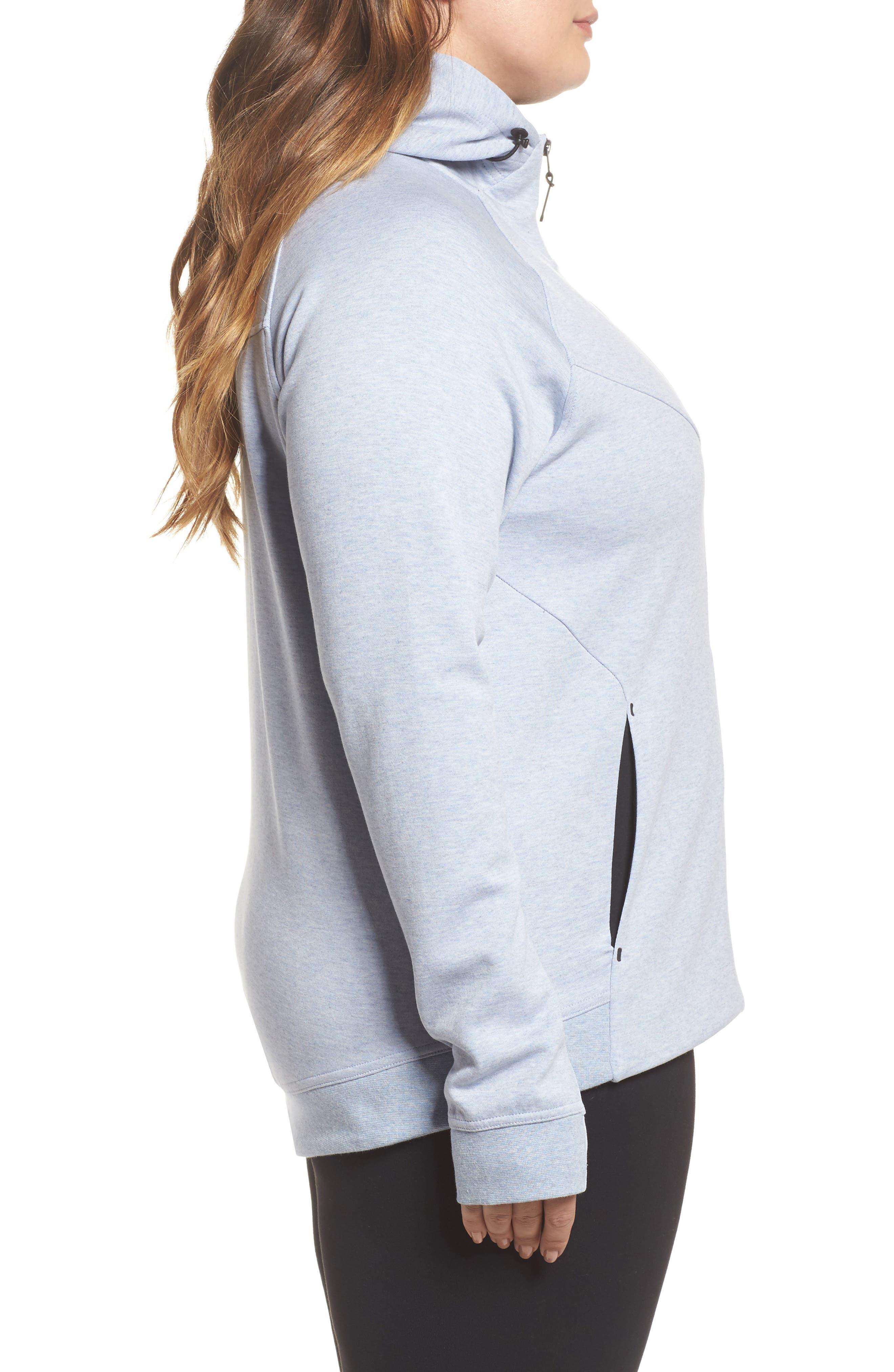 Alternate Image 3  - Nike Tech Fleece Hoodie (Plus Size)