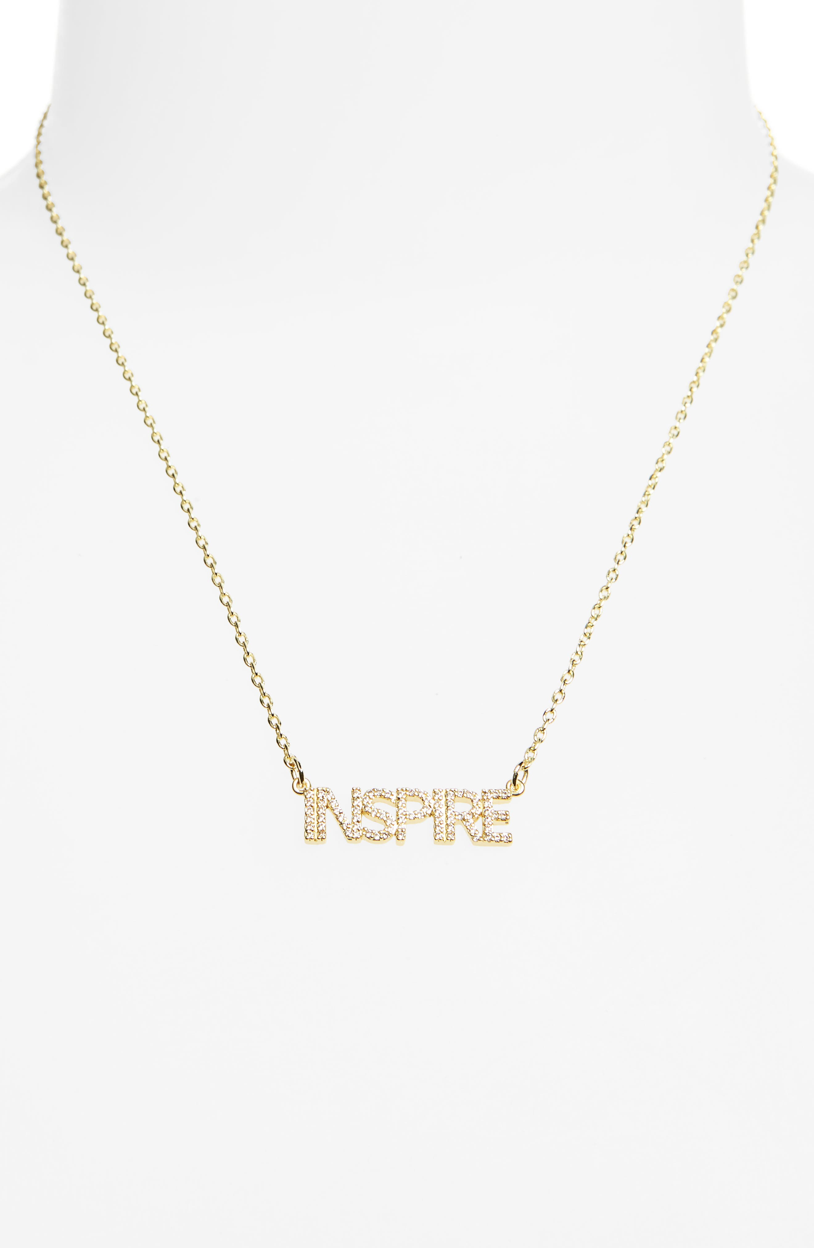 Alternate Image 2  - lulu dk Inspire Necklace