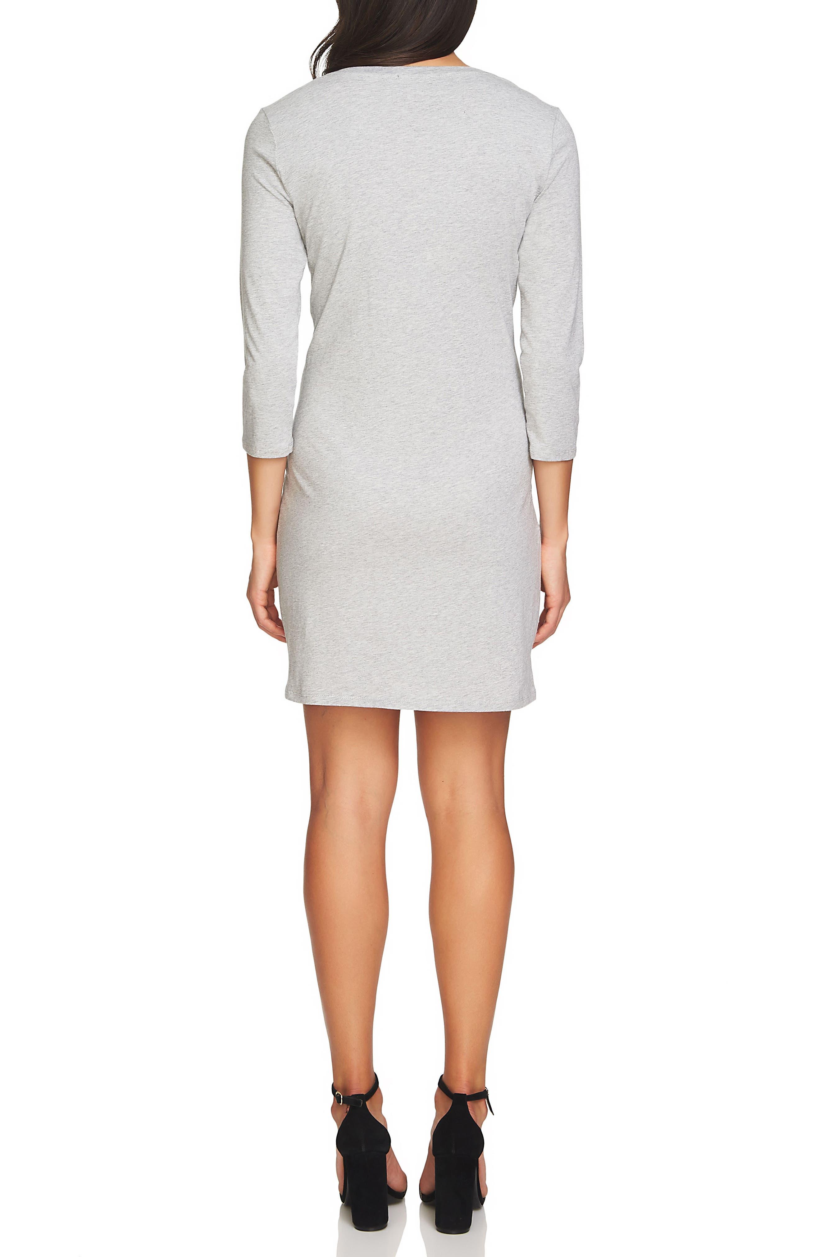 Alternate Image 2  - 1.STATE Corset Detail Knit Dress