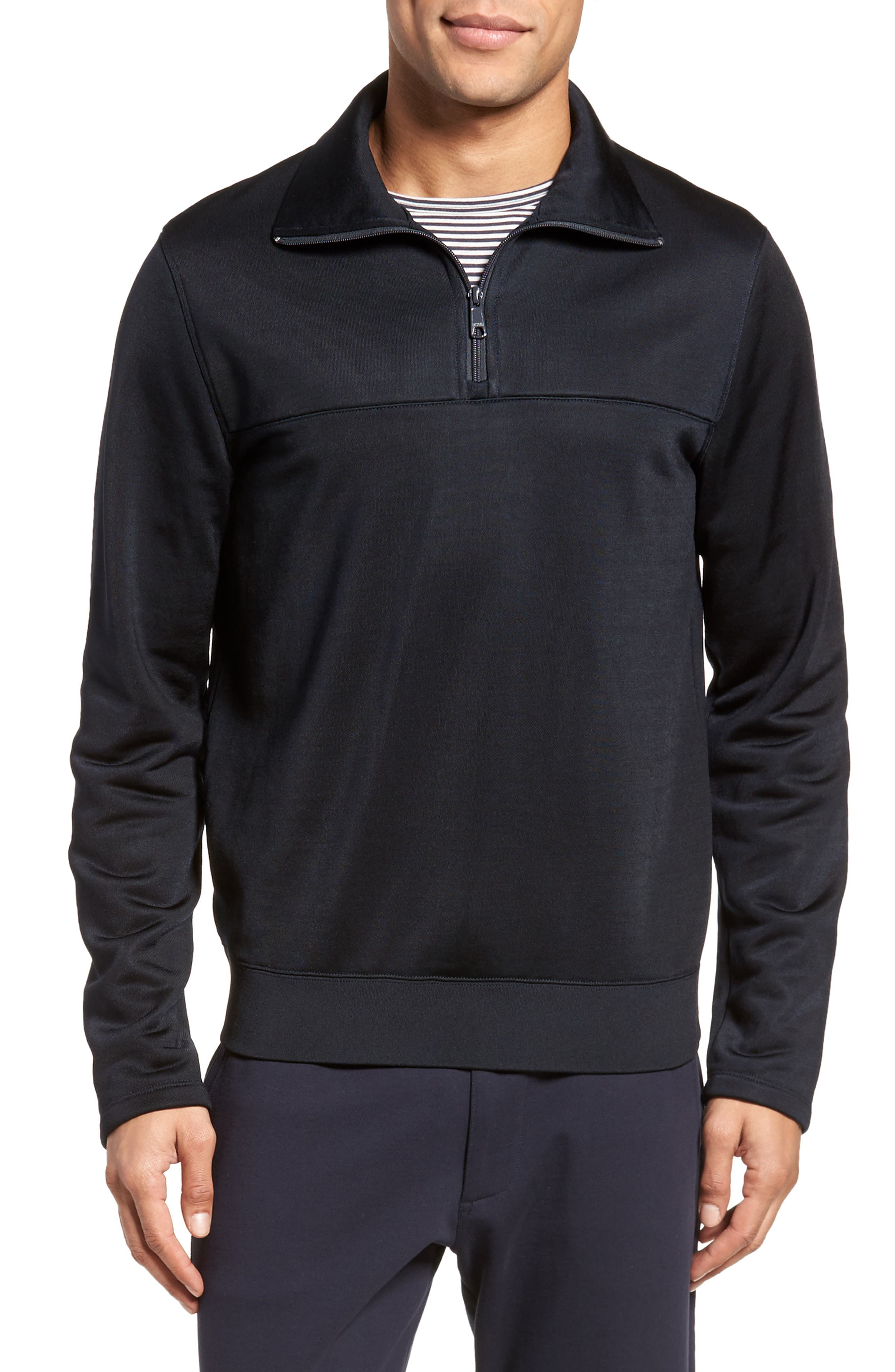 Alternate Image 1 Selected - Vince Quarter Zip Pullover