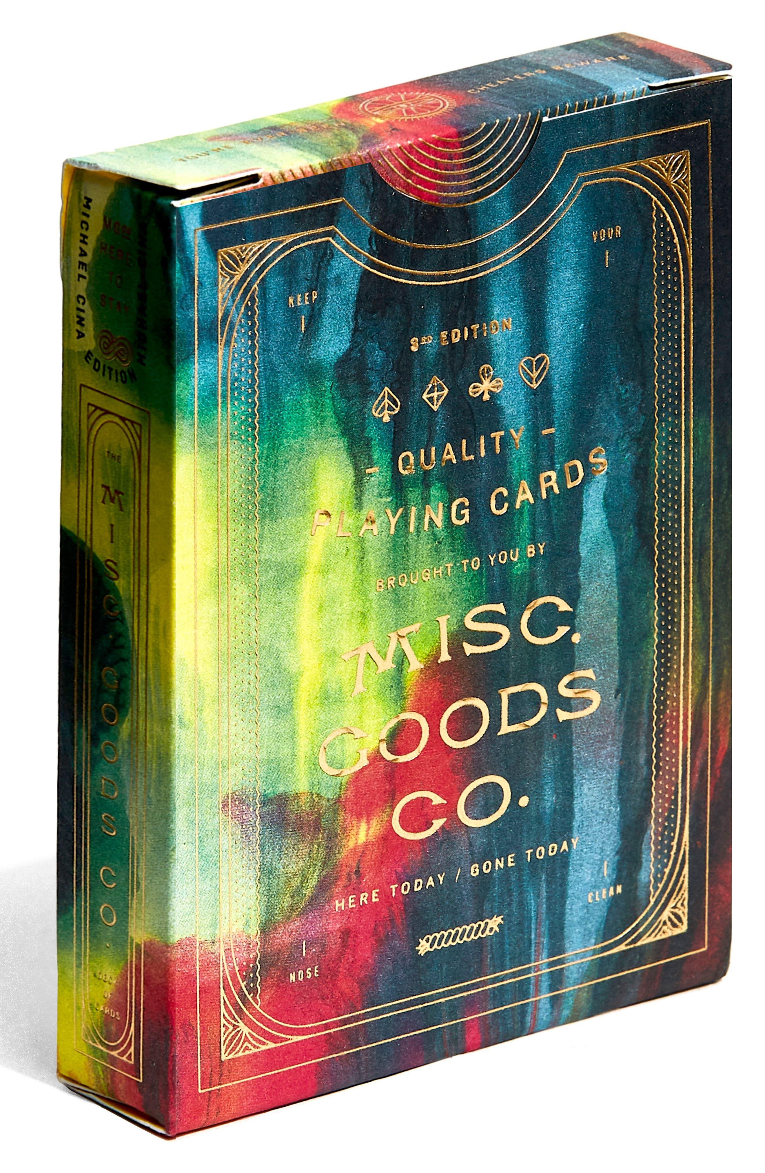 Cina Playing Cards,                             Alternate thumbnail 4, color,                             Multi