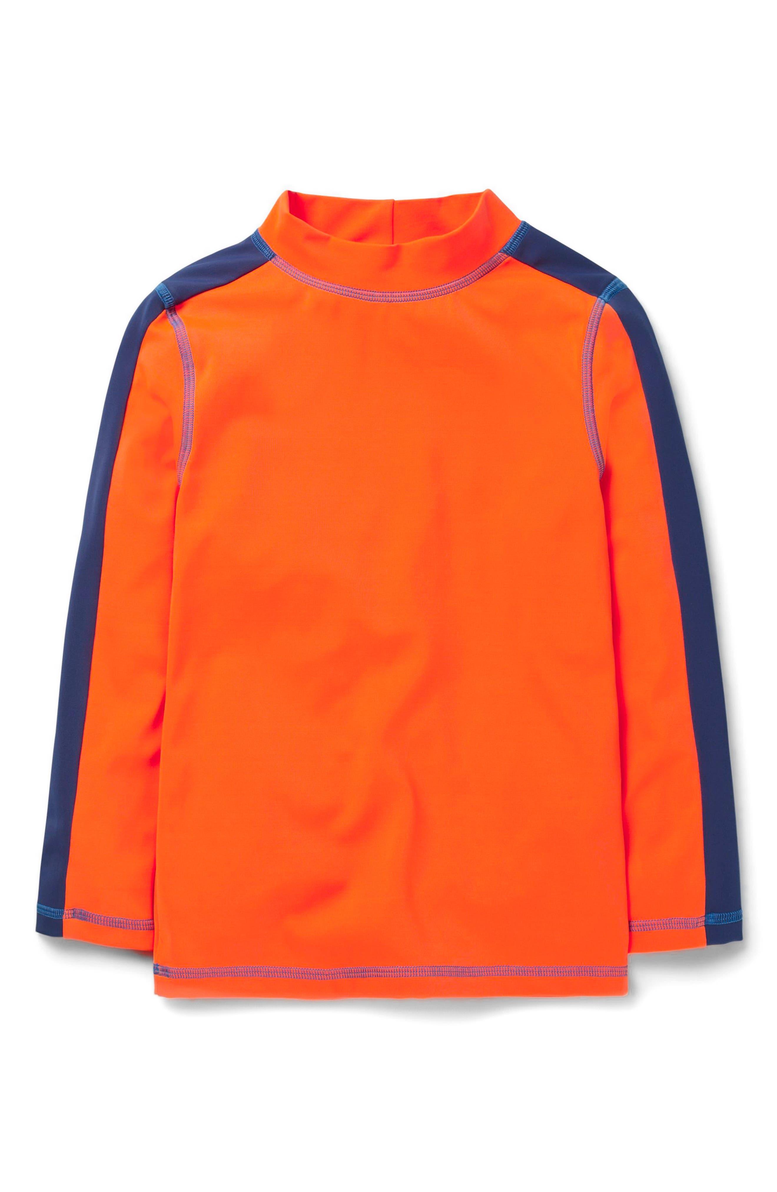 Rashguard,                             Main thumbnail 1, color,                             Kool Aid Orange