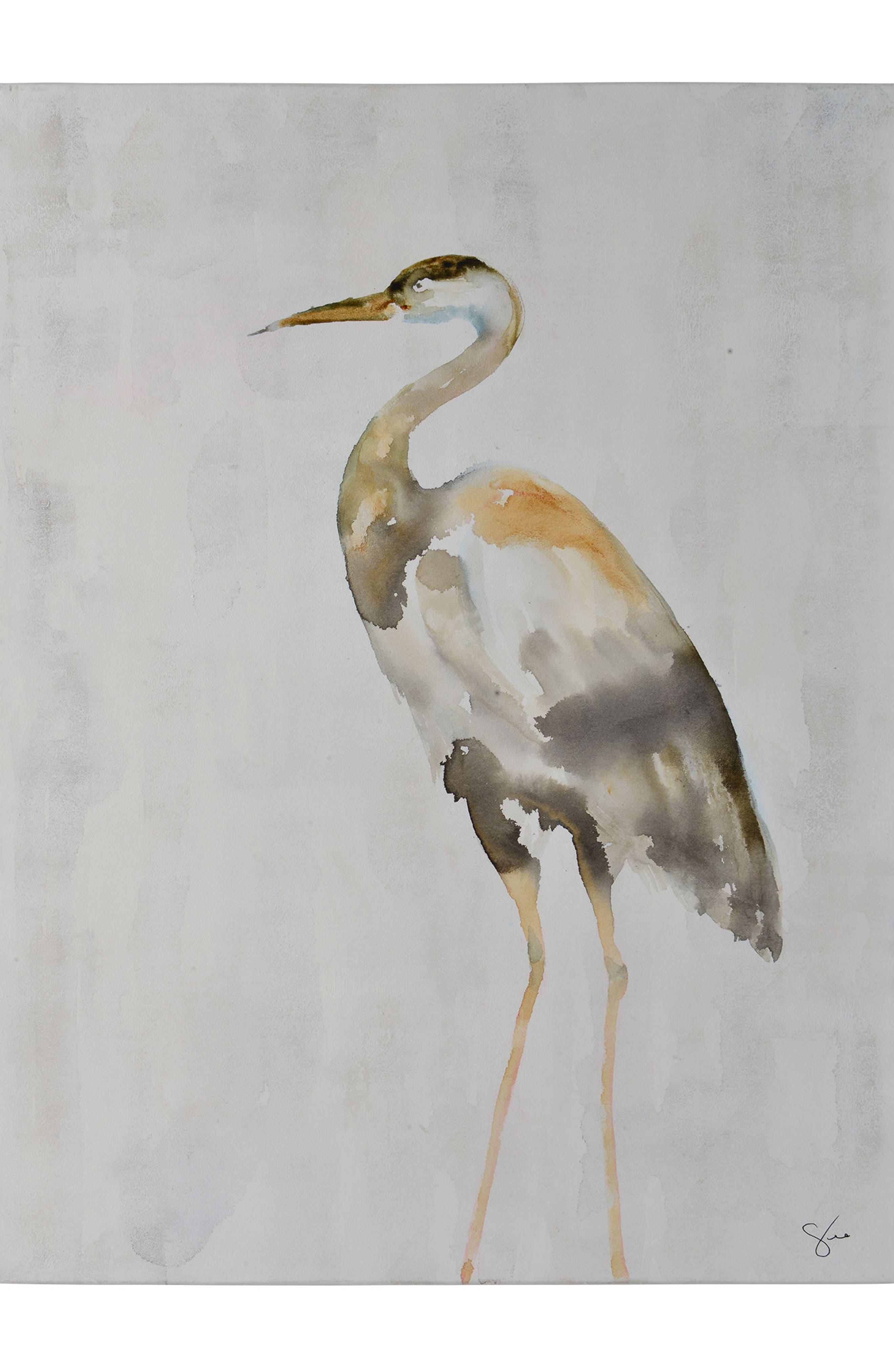 Sandhill Canvas Art,                             Main thumbnail 1, color,                             Multicolor