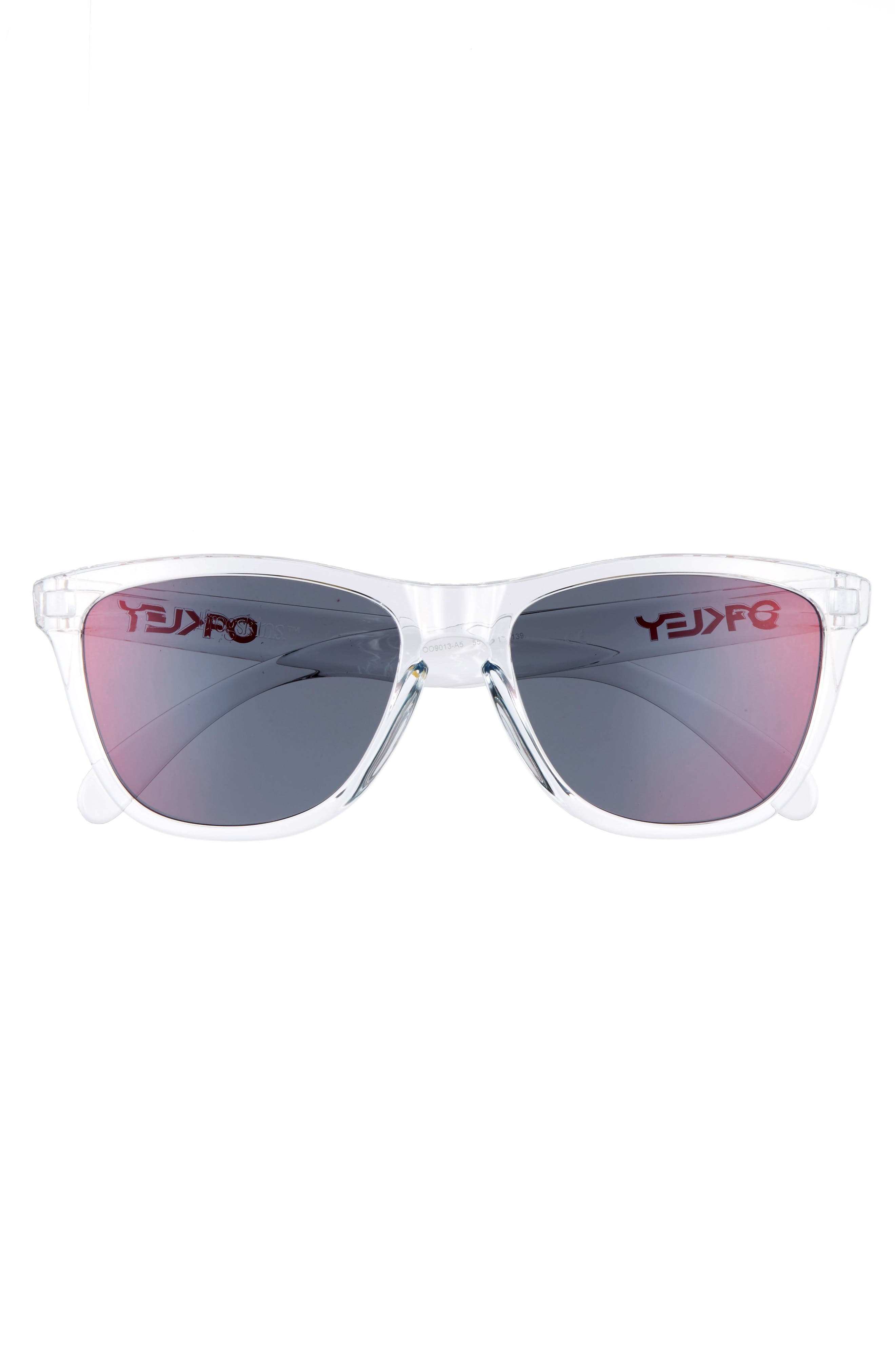 Frogskins 55mm Sunglasses,                             Alternate thumbnail 2, color,                             Torch Iridescent