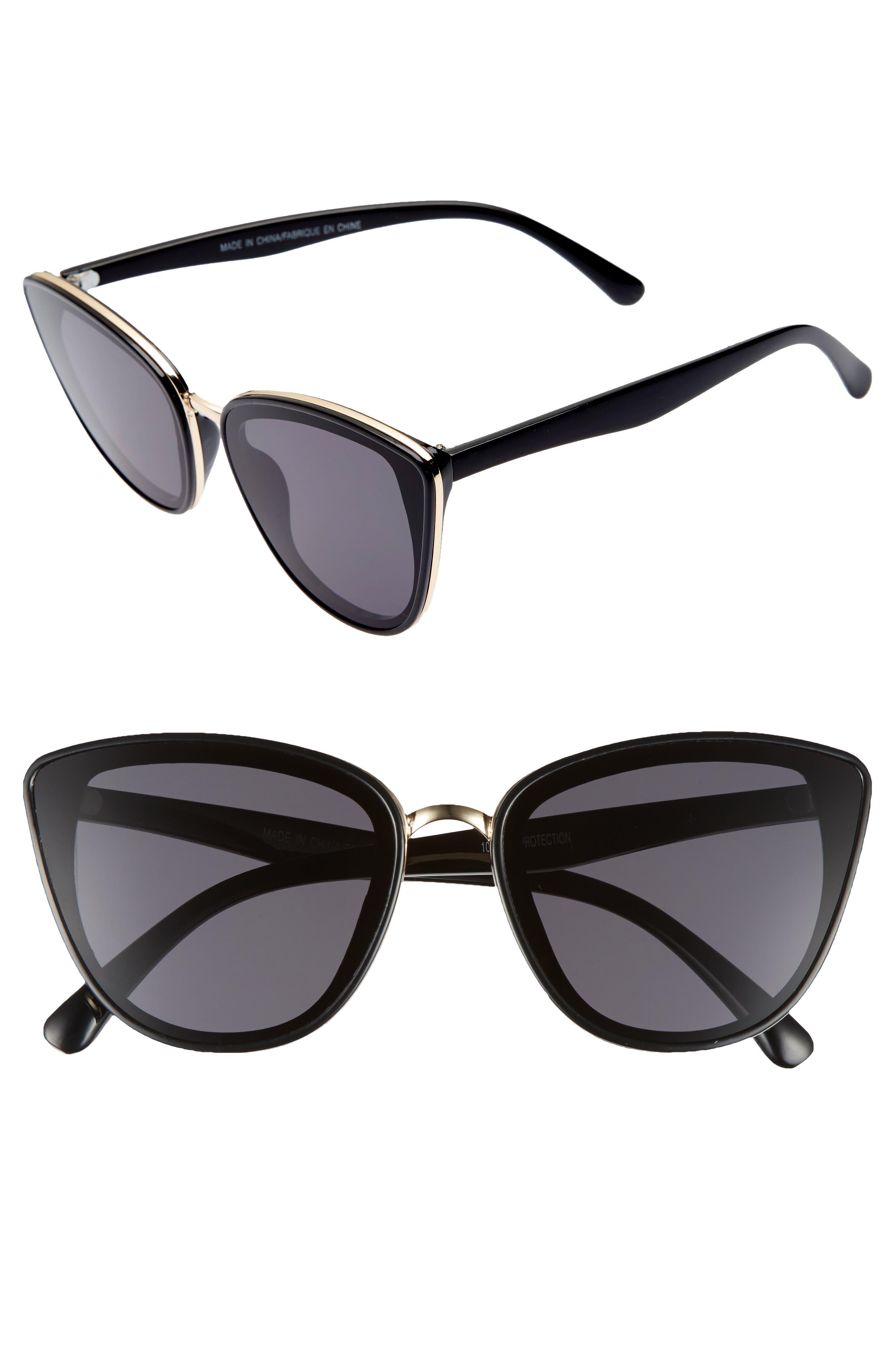 Main Image - BP. 59mm Perfect Cat Eye Sunglasses