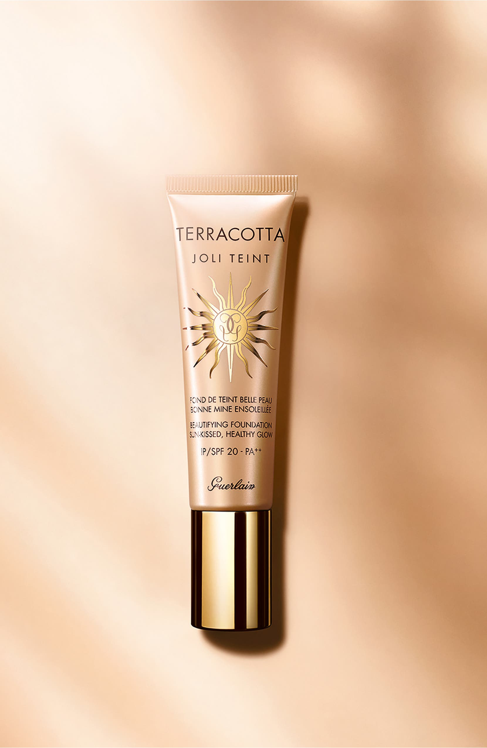 Guerlain Terracotta Joli Teint Healthy Glow Fluid Foundation Spf 20