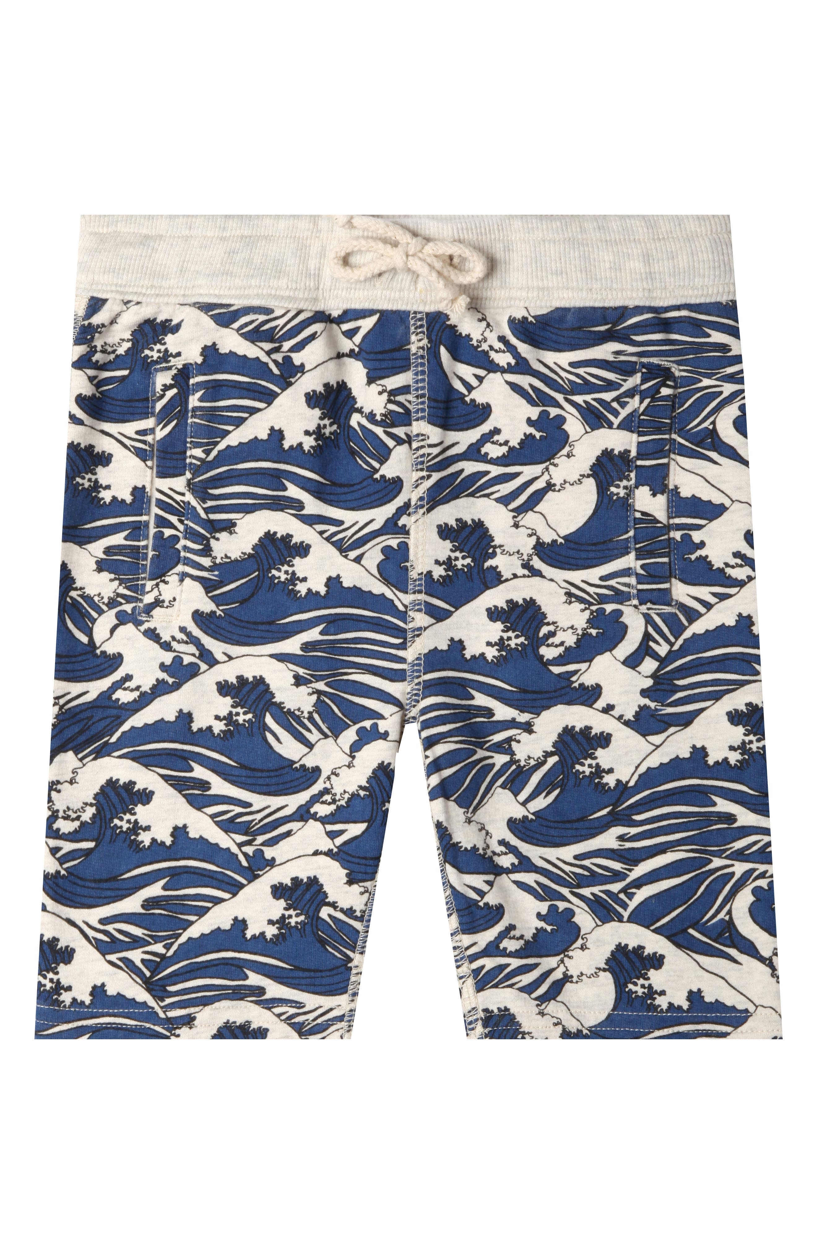 Art & Eden Lucas Waves Organic Cotton Shorts (Baby Boys)