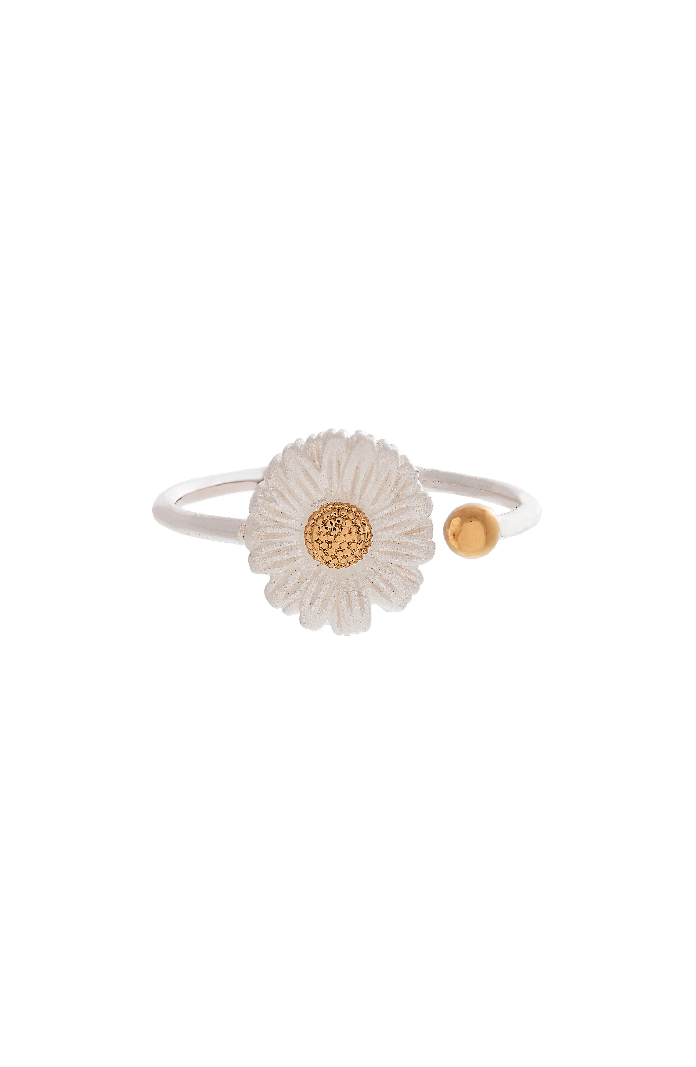 Daisy Ring,                             Main thumbnail 1, color,                             Silver/ Gold