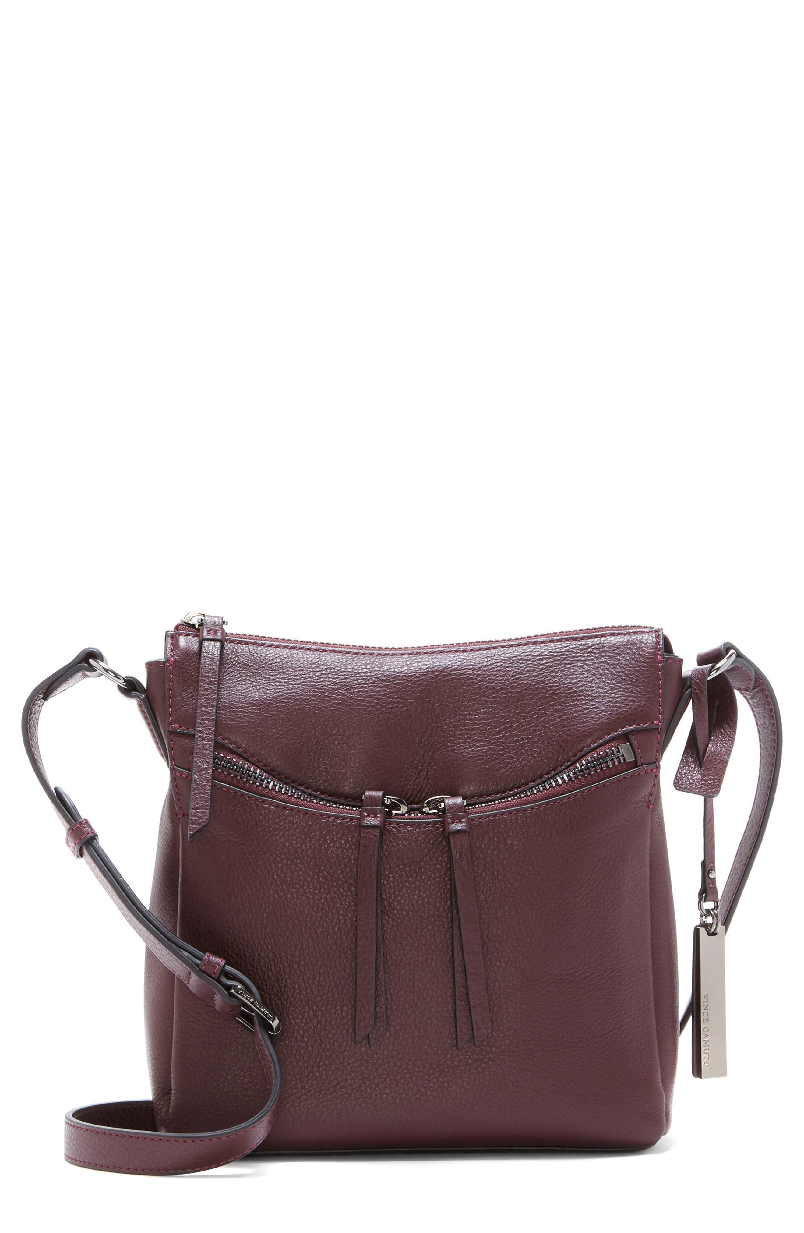 Vince Camuto Staja Leather Crossbody Bag