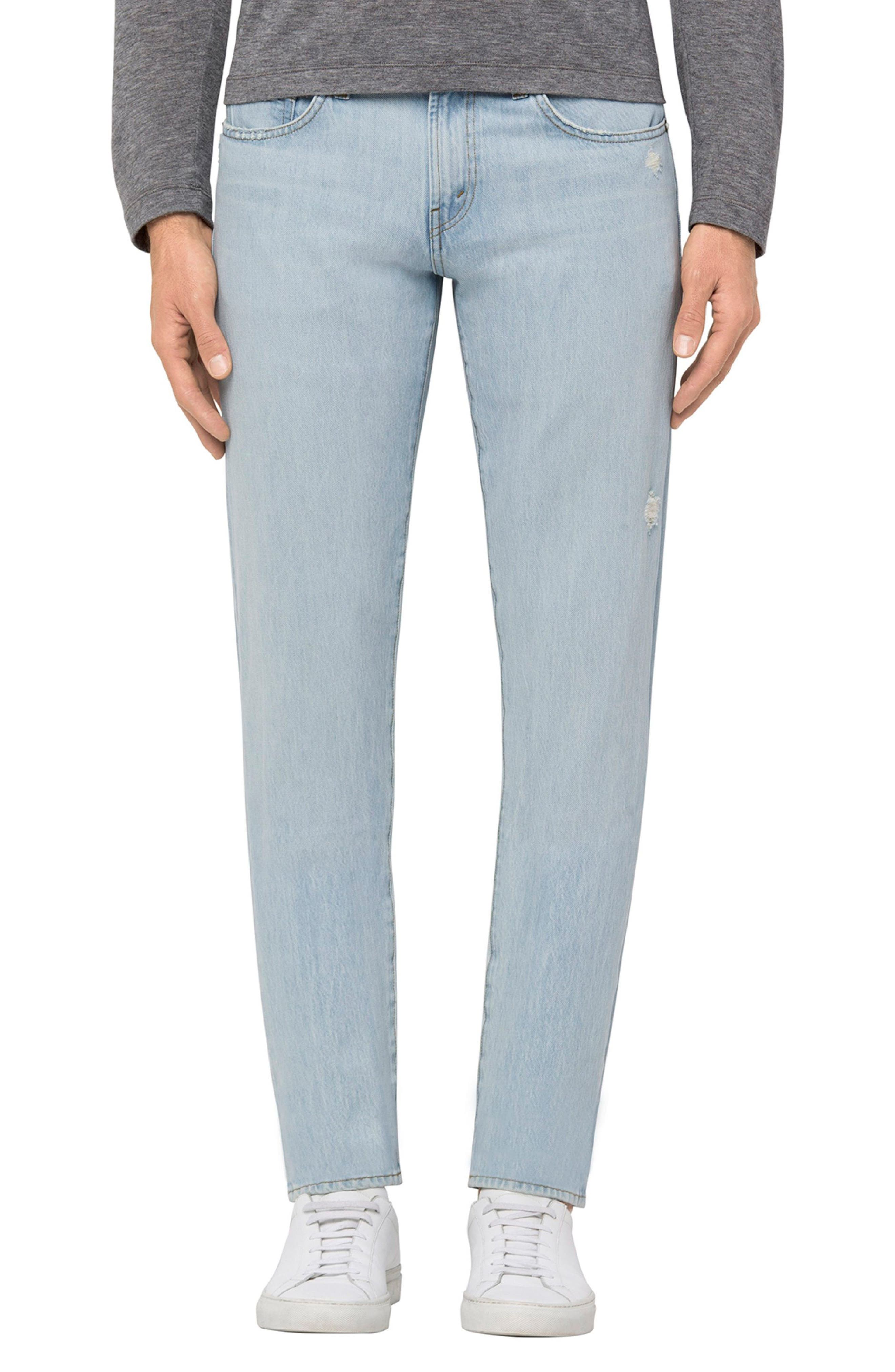 Tyler Slim Fit Jeans,                         Main,                         color, Intertidal