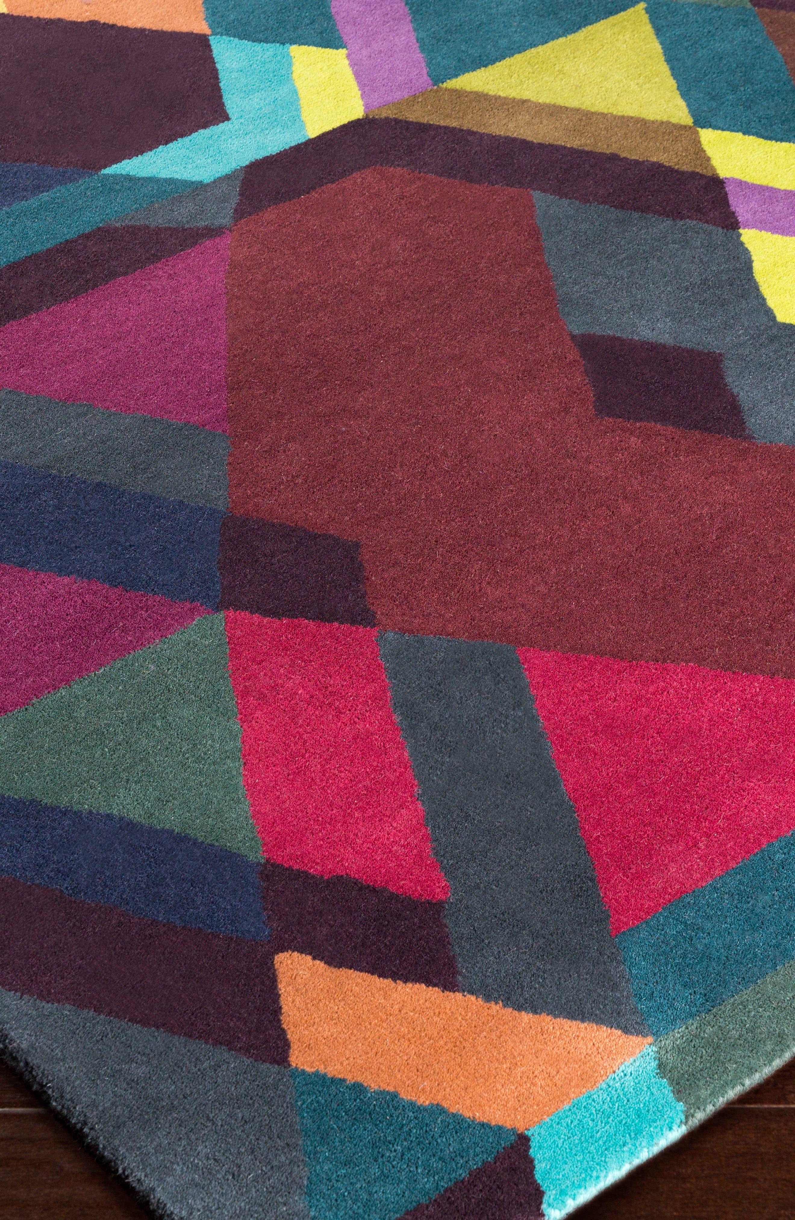 Alternate Image 2  - Ted Baker Rugs x Surya Iconic Wool Area Rug