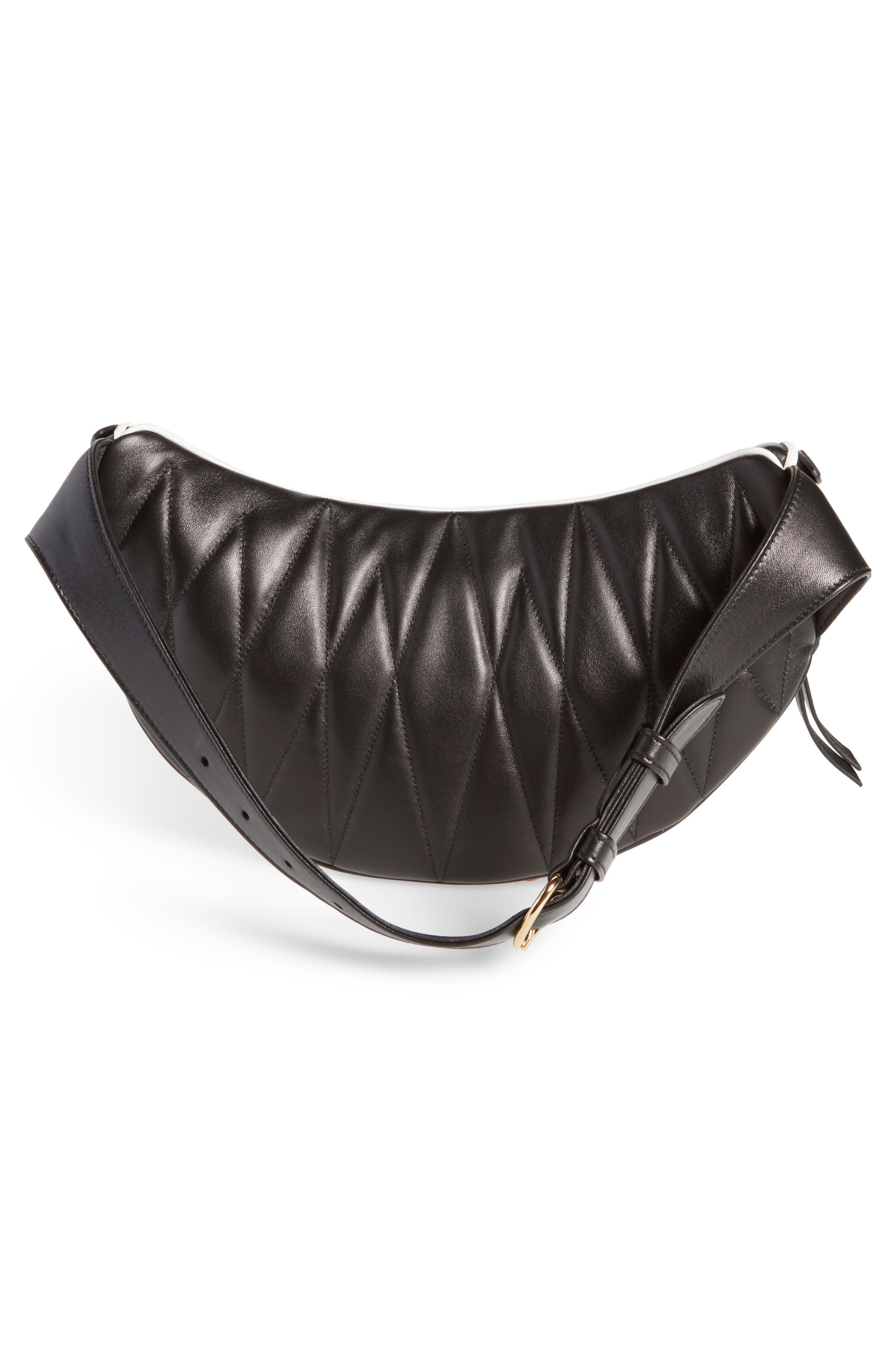 Alternate Image 3  - Miu Miu Rider Matelassé Leather Belt Bag