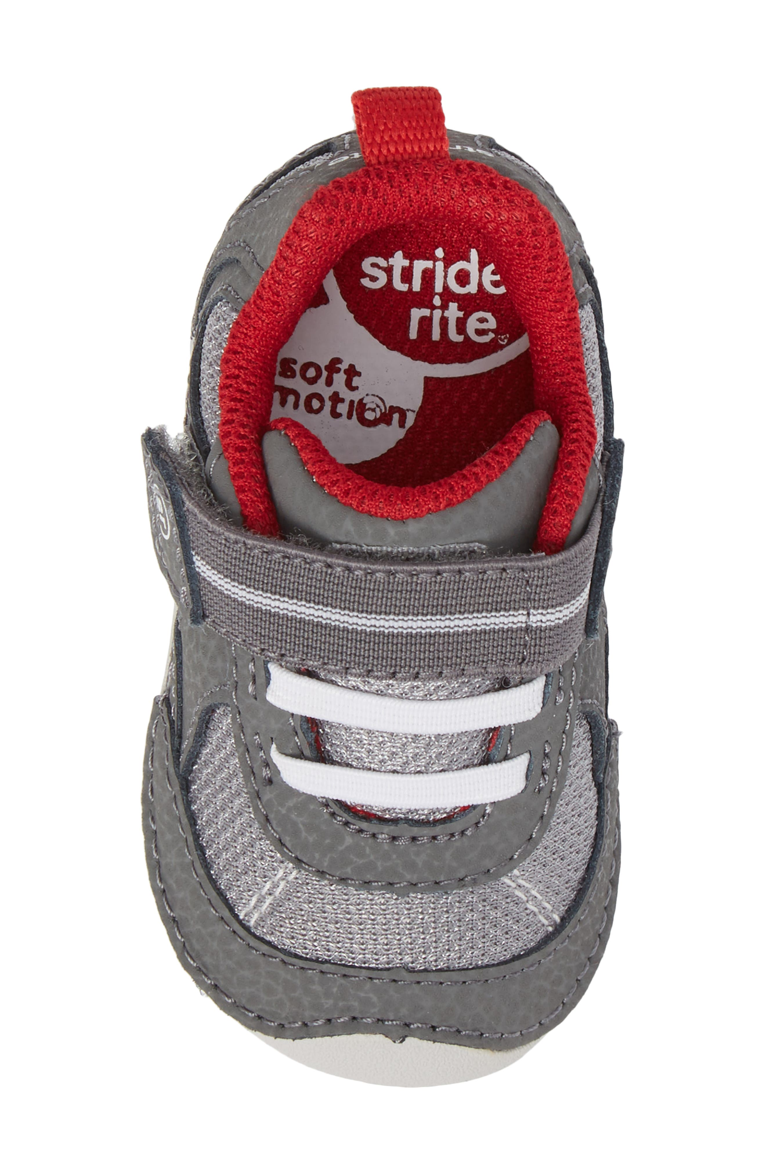 Alternate Image 5  - Stride Rite Soft Motion™ Jamie Sneaker (Baby & Walker)