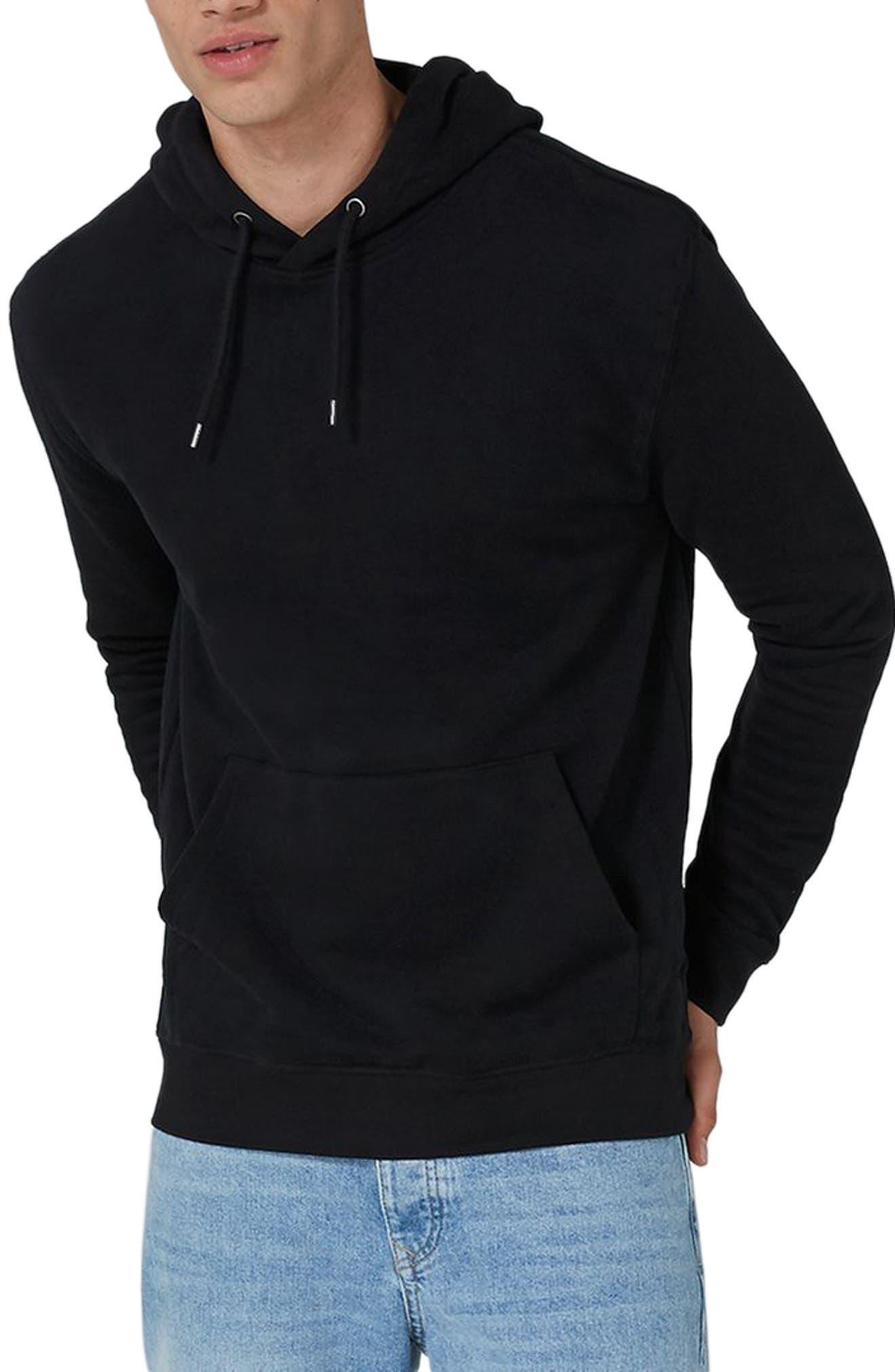 Classic Hoodie,                         Main,                         color, Black