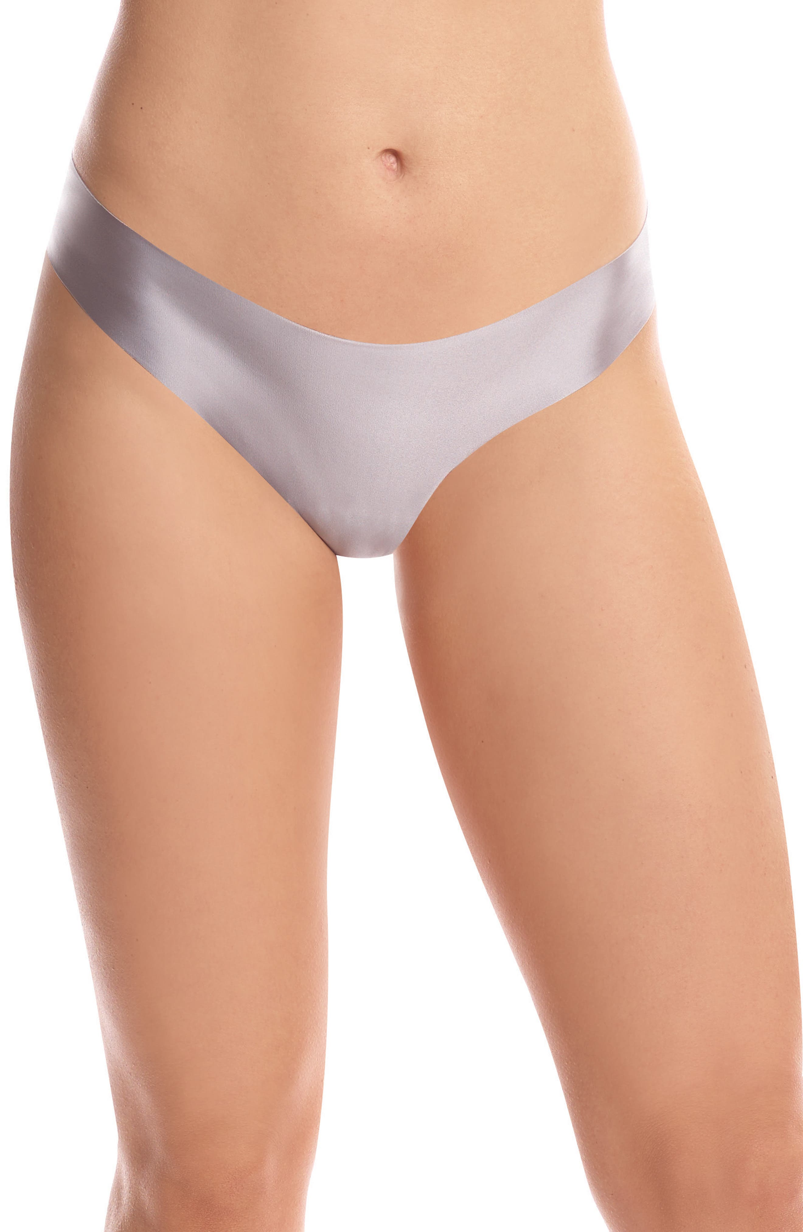 Alternate Image 1 Selected - Commando Luxe Satin Thong