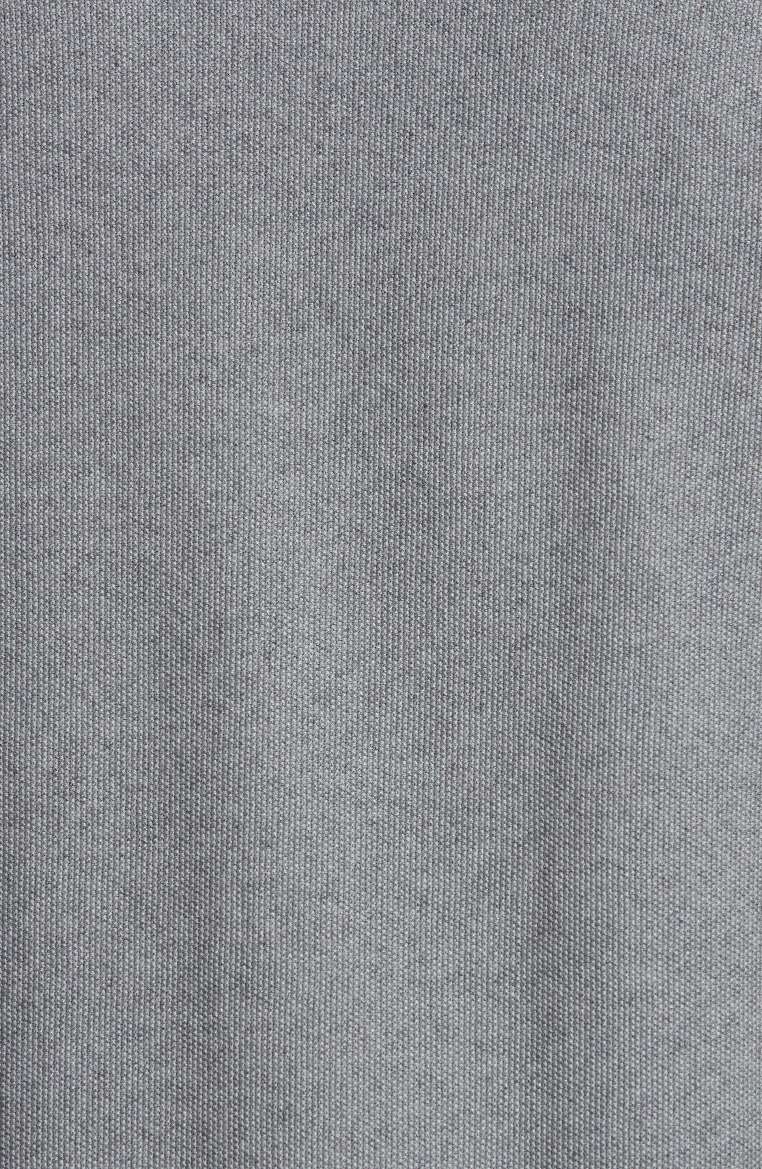 Cotton & Cashmere Sweater,                             Alternate thumbnail 5, color,                             Heather Grey