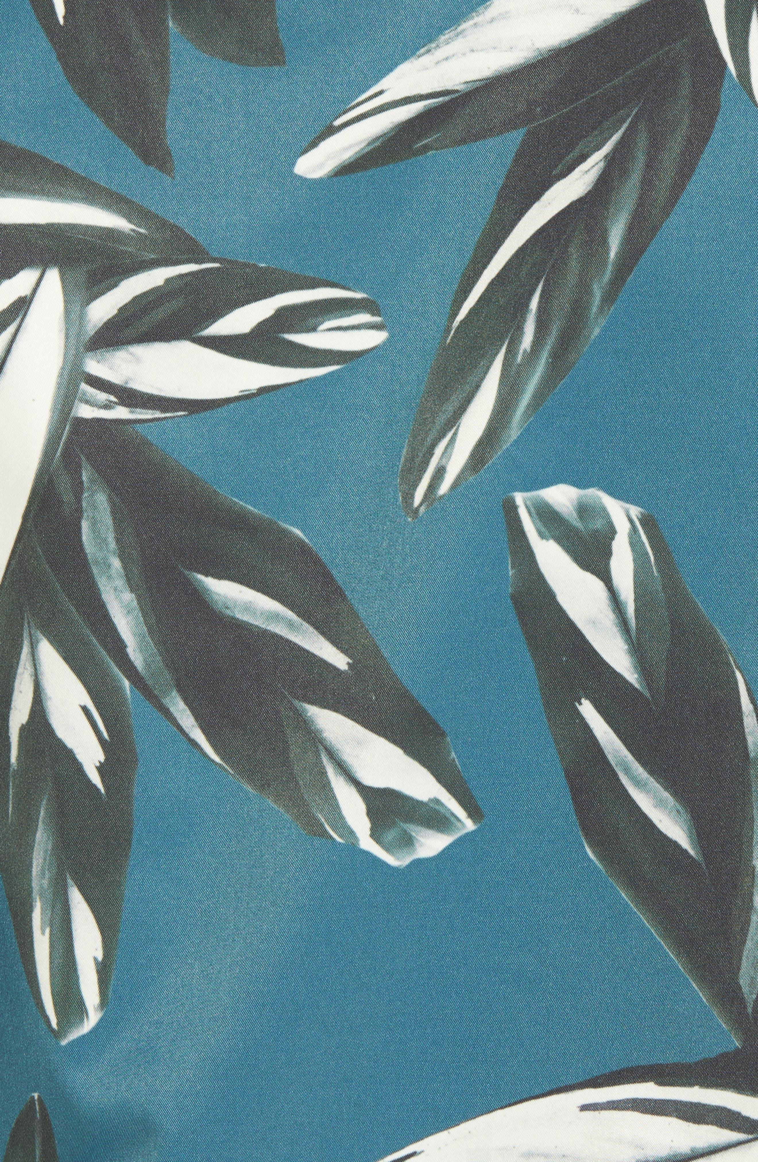 Toth Bomber Jacket,                             Alternate thumbnail 5, color,                             Teal