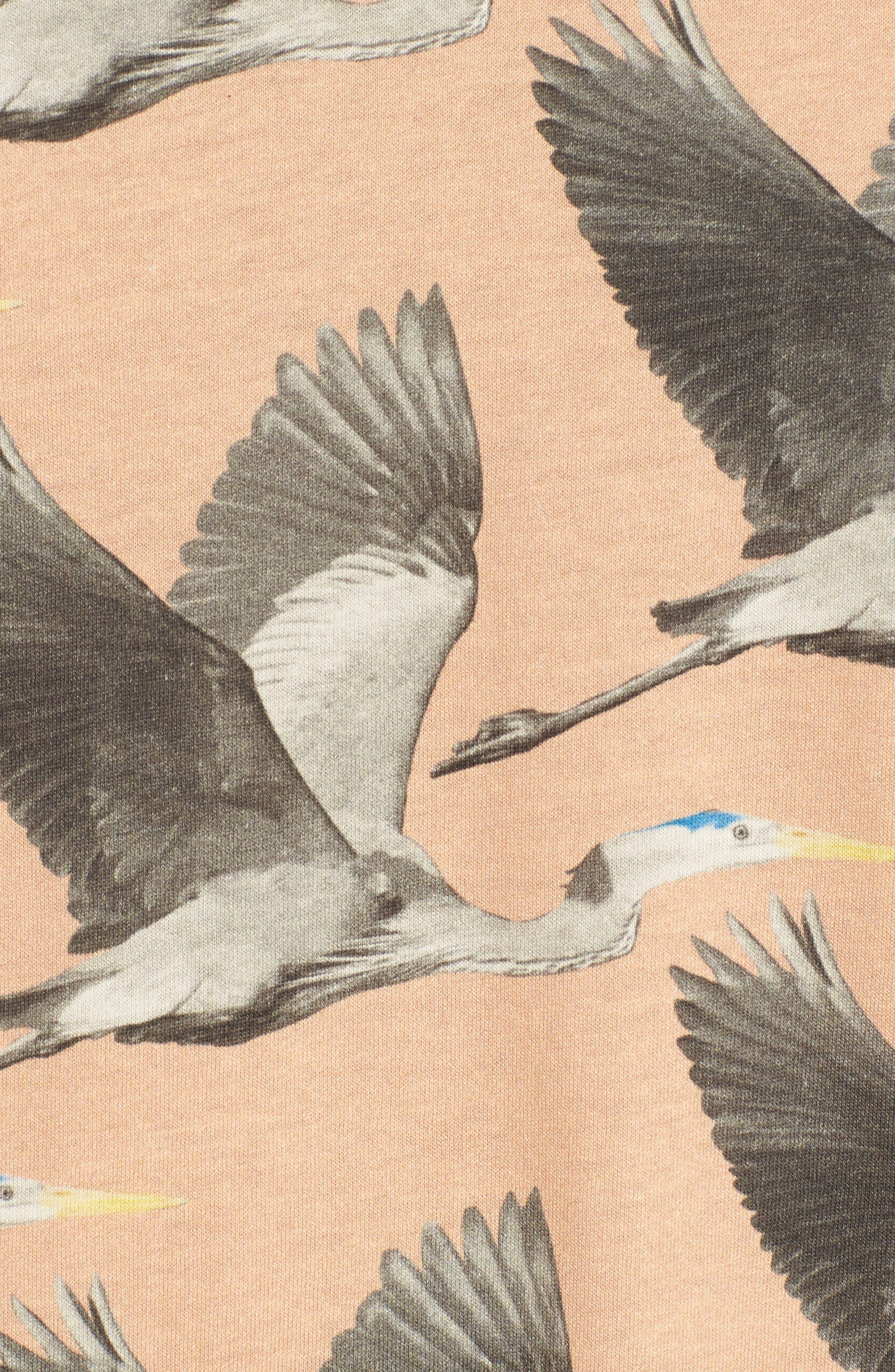 Alternate Image 5  - Ted Baker London Flute Blue Heron Print T-Shirt