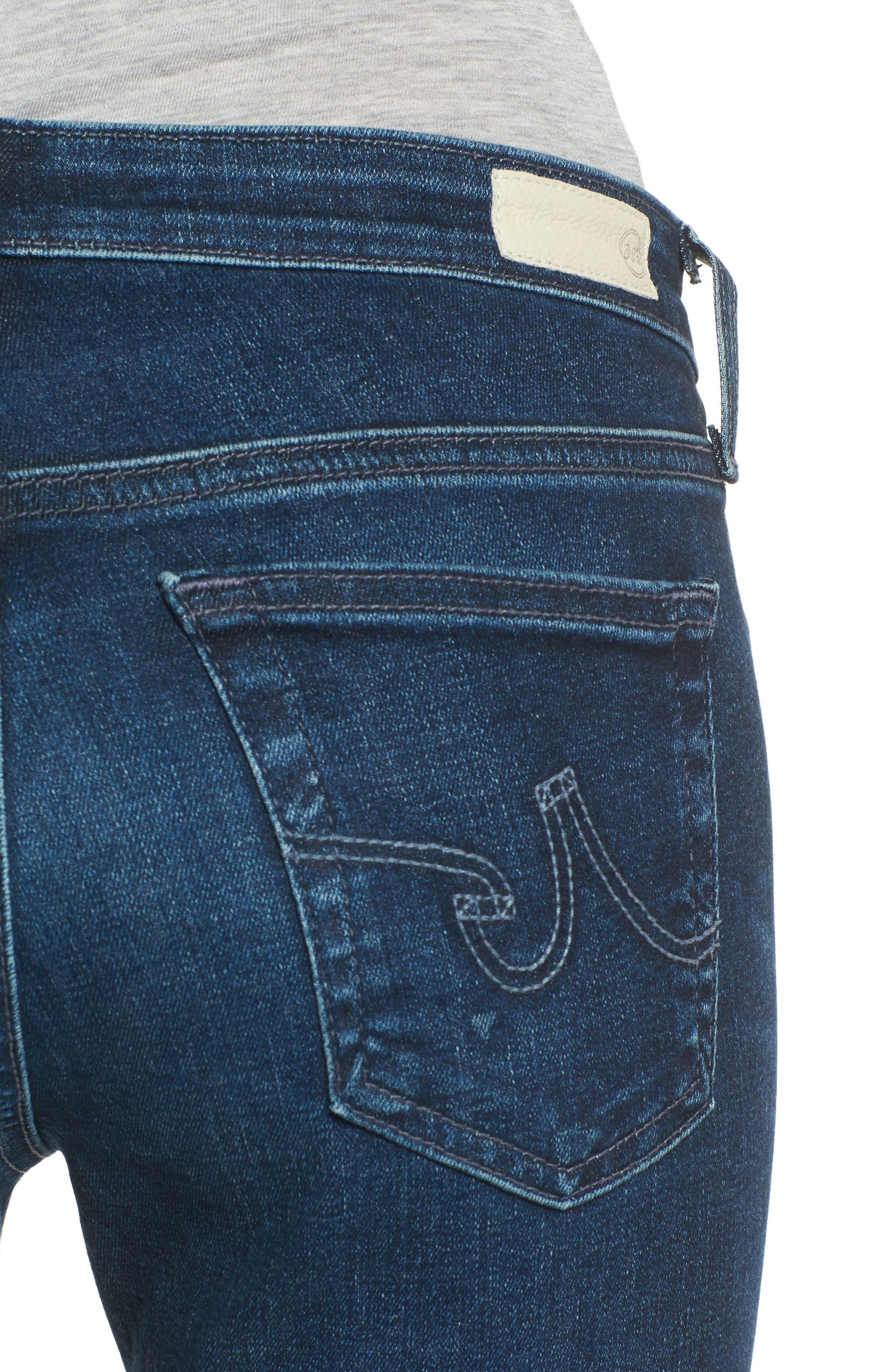 Alternate Image 4  - AG The Legging Ankle Super Skinny Jeans (04 Years Rapid)