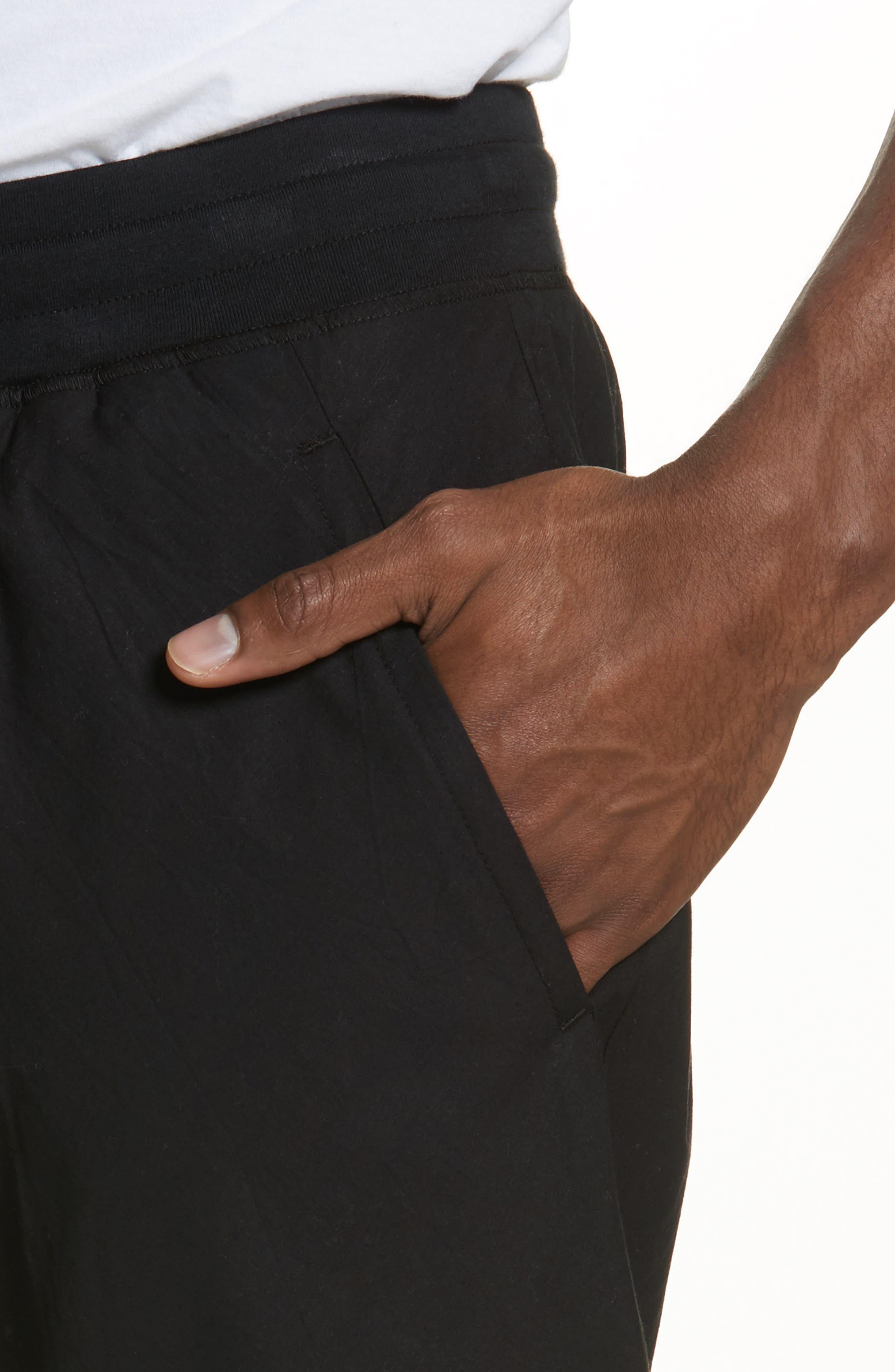 Overlay Shorts,                             Alternate thumbnail 4, color,                             Black