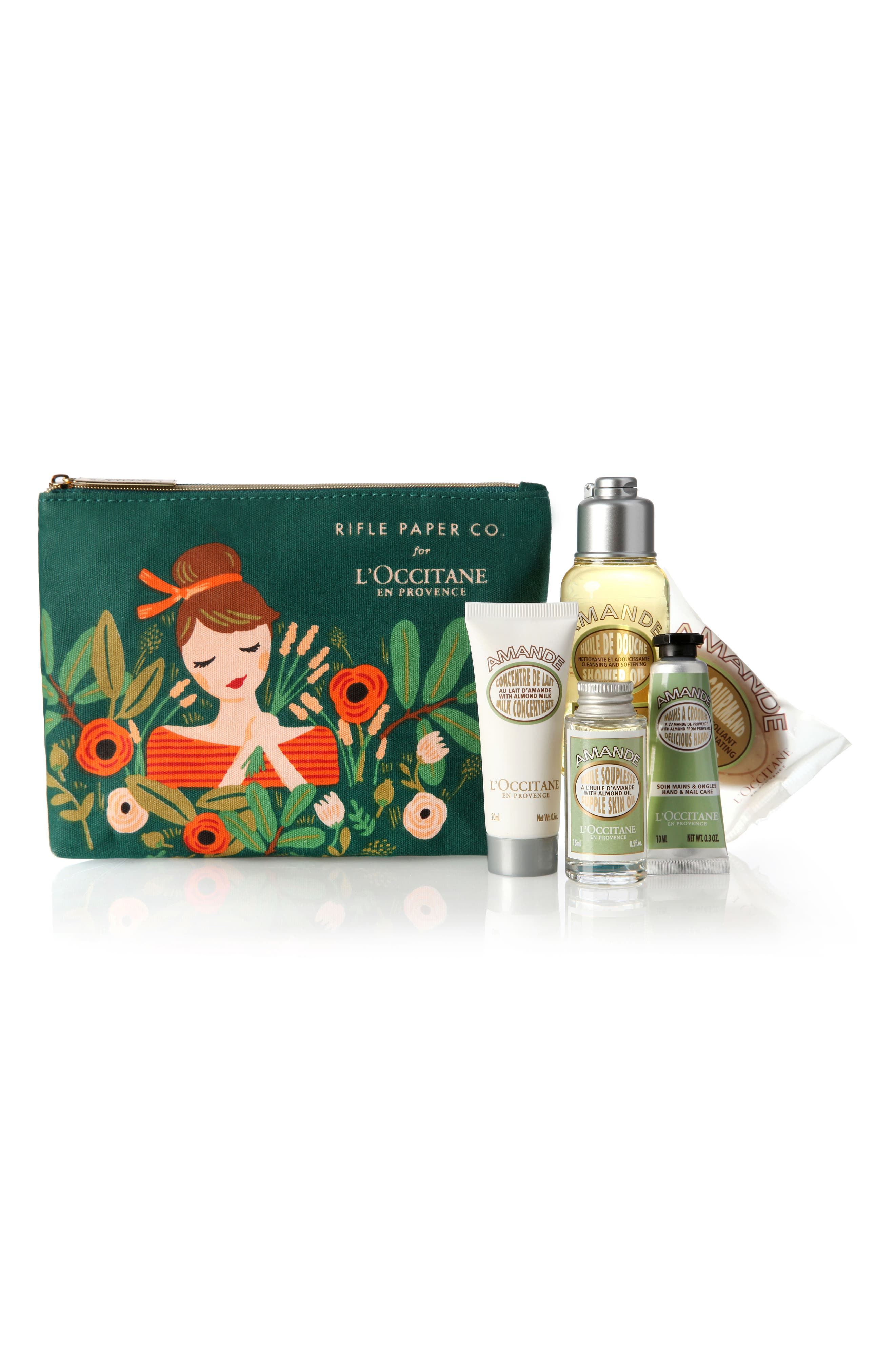 Main Image - L'Occitane Rifle Paper Co. Almond Set ($38 Value)